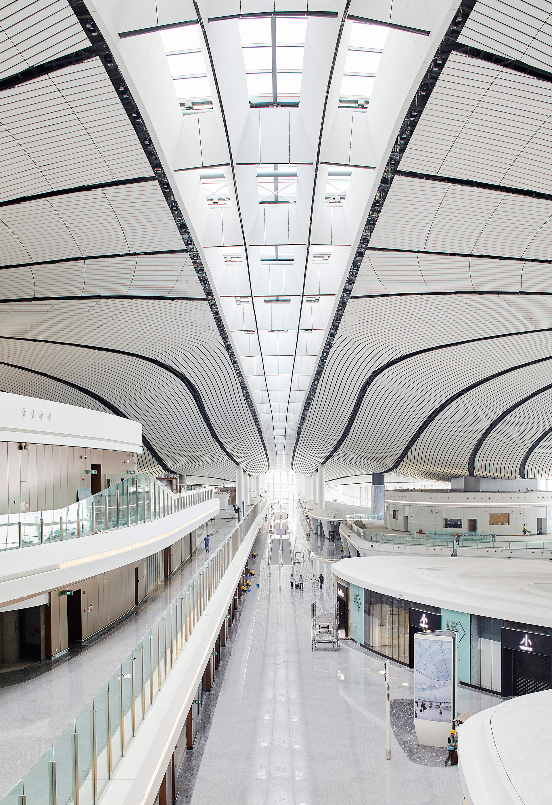 Beijing Daxing international airport - Interiors | Beijing Daxing International Airport | Zaha Hadid Architects | STIRworld