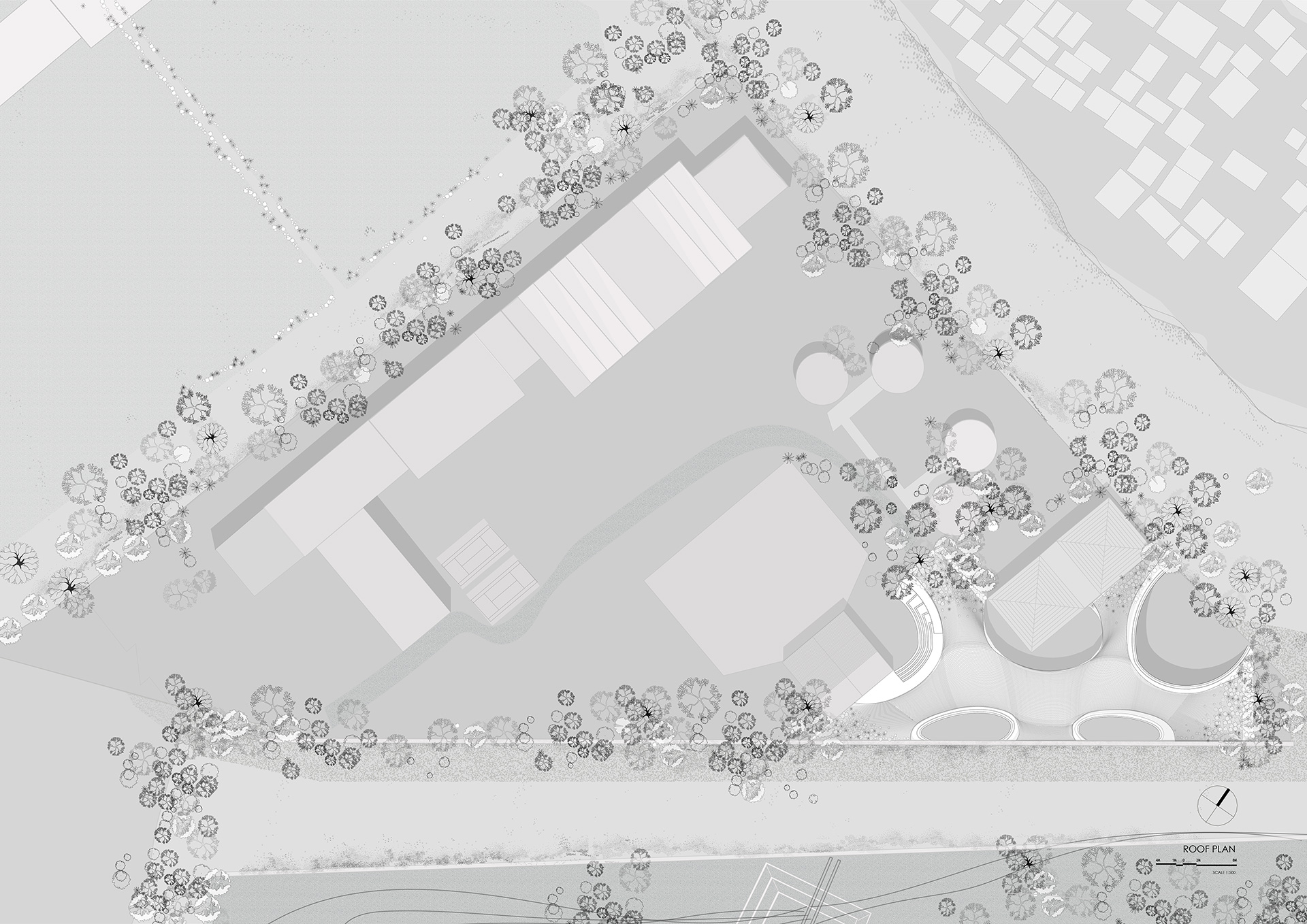 Site Plan | Maya Somaiya Library | sP+a | STIRworld