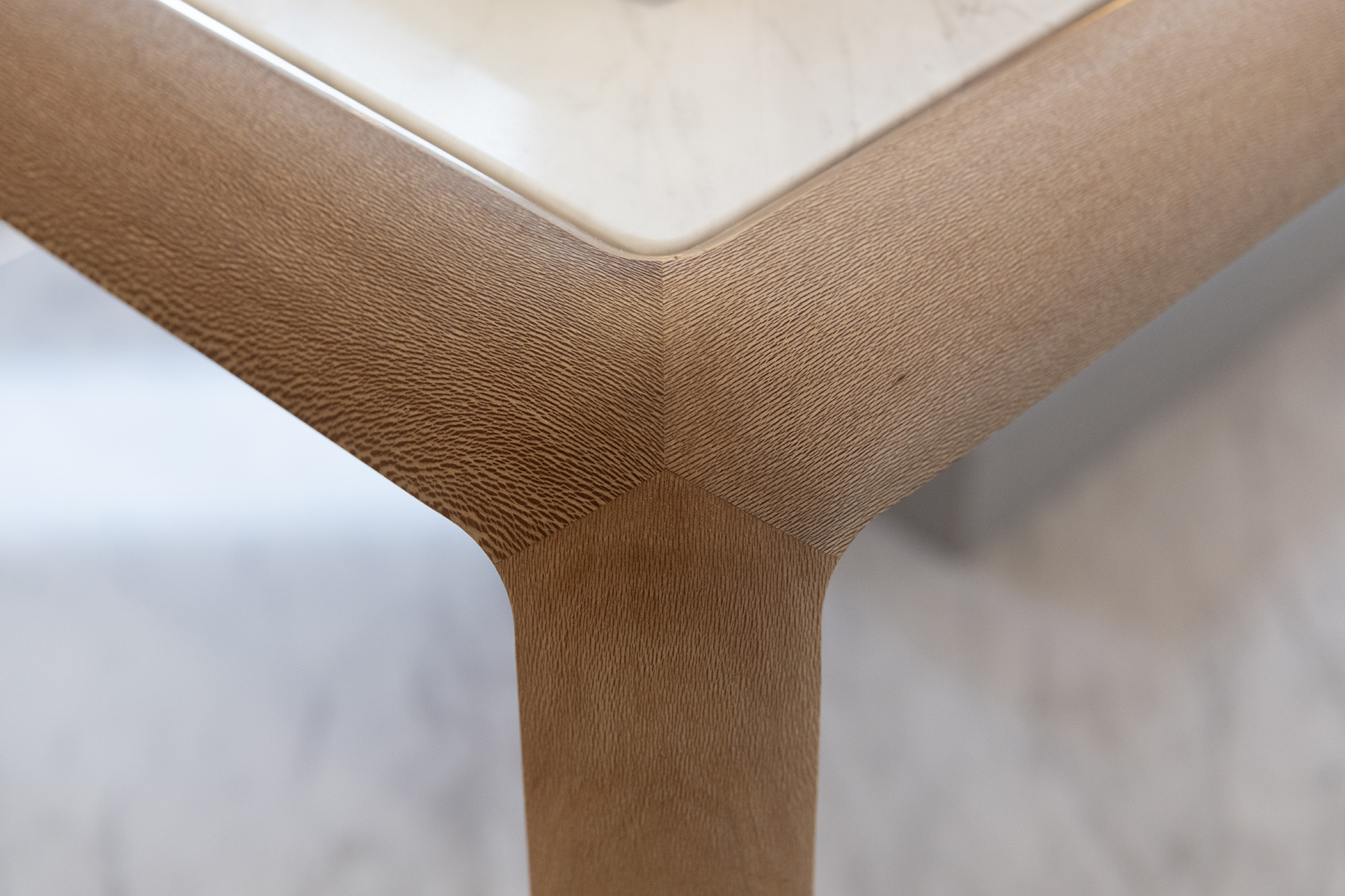 The furniture at Hearst's London store have rounded corners | Gabriela Hearst London Store | Foster + Partners | STIRworld