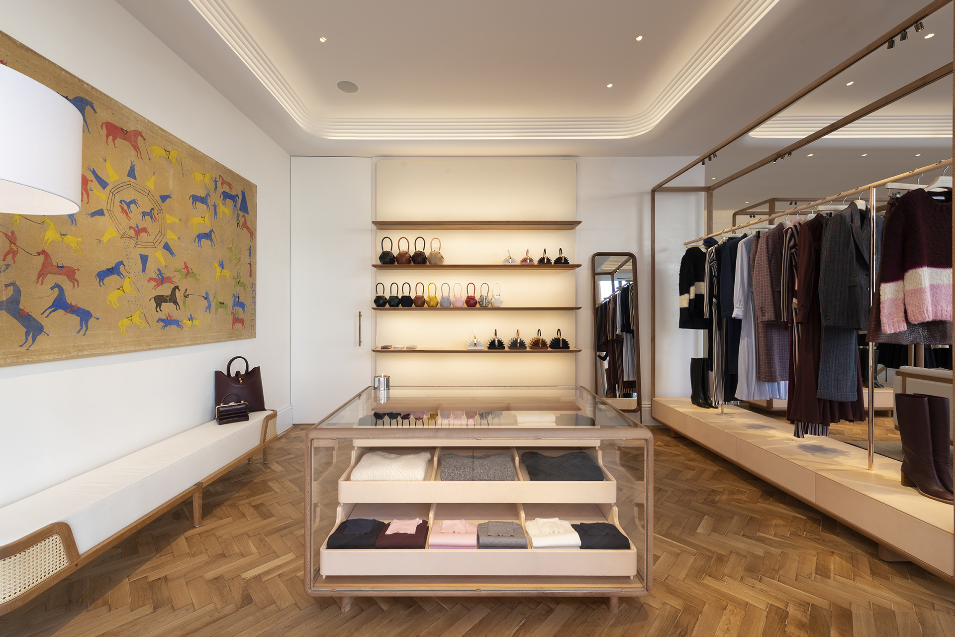 Interiors of Gabriela Hearst's London store | Gabriela Hearst London Store | Foster + Partners | STIRworld
