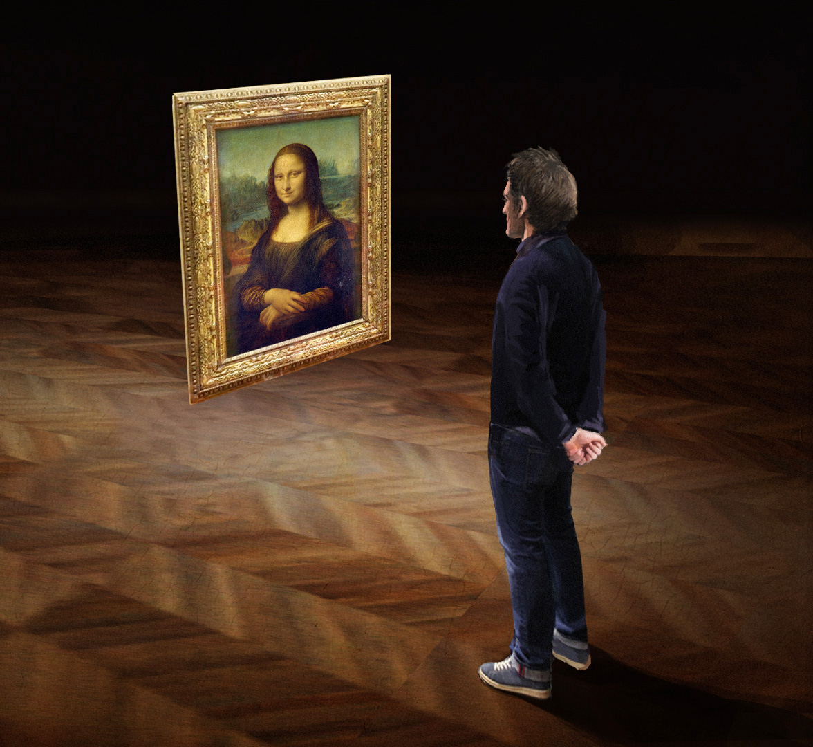 Viewers will have the rare chance to immerse into the world's most iconic painting | Leonardo da Vinci | Musée du Louvre | STIRworld