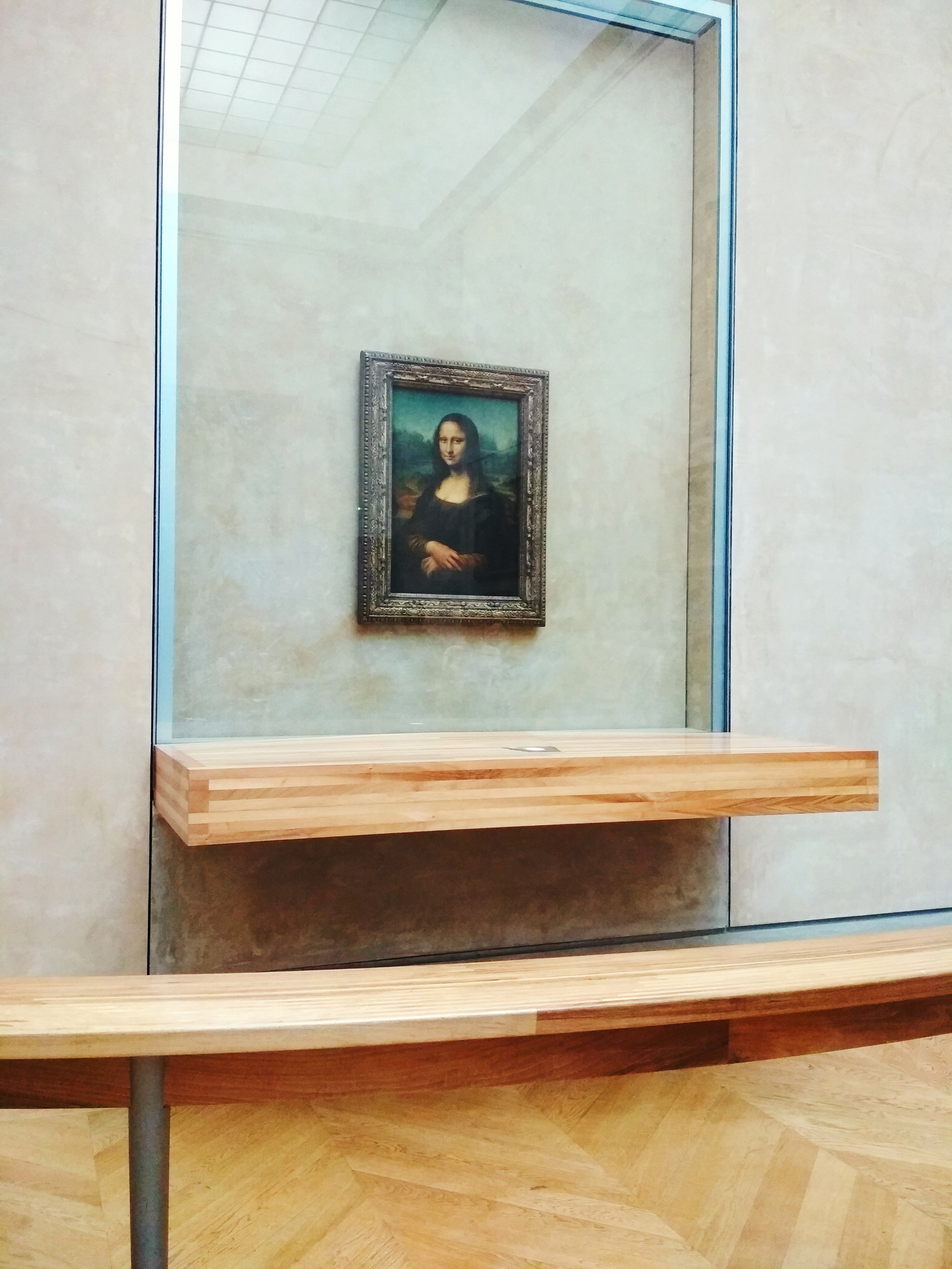 A gallery view of the Mona Lisa as seen by the author | Musée du Louvre | STIRworld