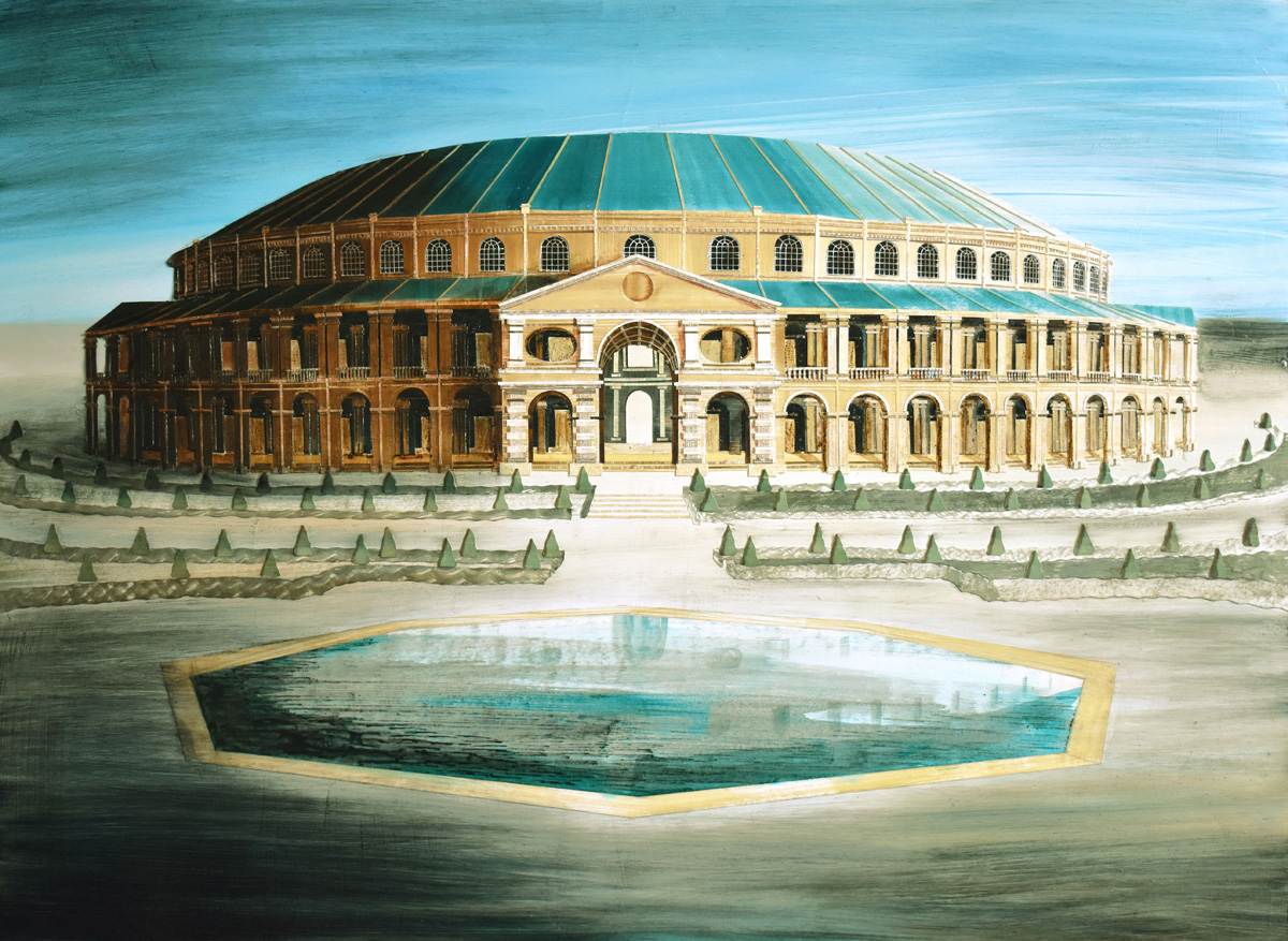 Ranelagh Rotunda - the centrepiece to the elaborate Ranelagh Gardens was a huge rococo rotunda, which housed a lofty circular assembly hall bordered by two tiers of boxes | Facades by Ed Kluz | John Martin Gallery | STIRworld
