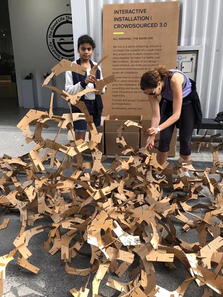FLOCK: This crowd-sourced art installation is a series of community-based workshops that involve participants of all age to experiment with design through creative play  | Hyderabad Design Week | STIRworld