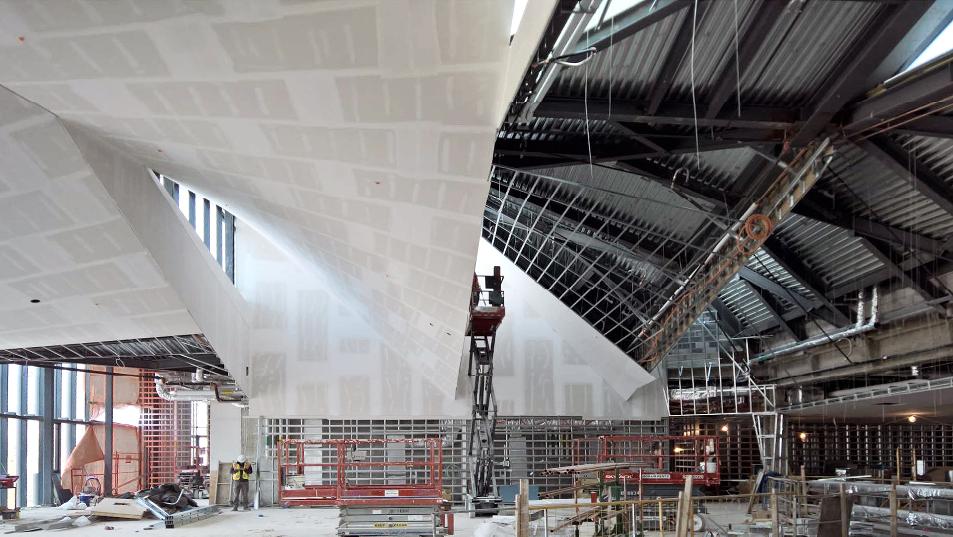 Roof and clerestory under construction | Daniels Faculty of Architecture | NADAAA architects | Canada | STIRworld