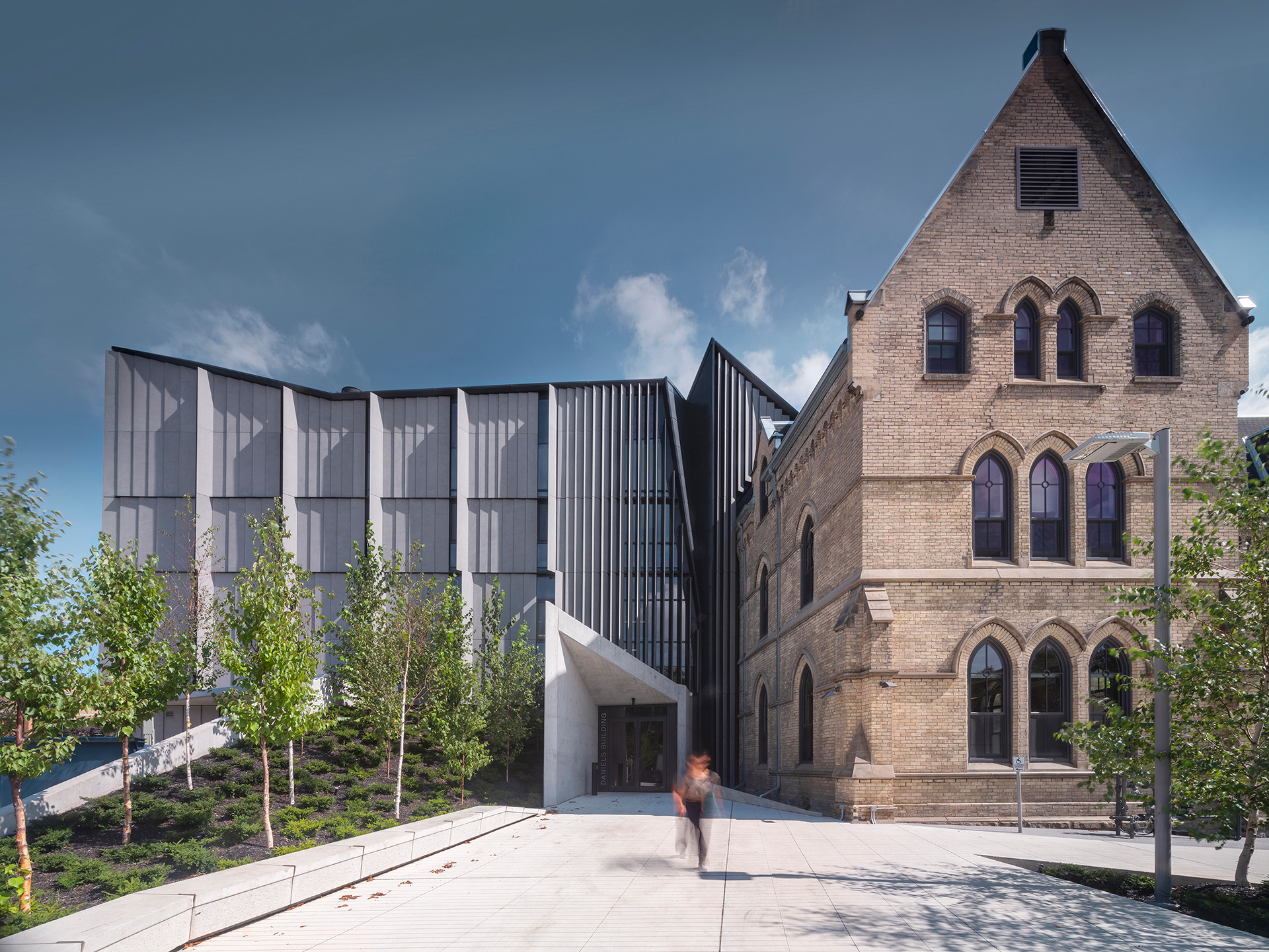 Conserved heritage building stands comfortably with its new counterpart | Daniels Faculty of Architecture | NADAAA architects | Canada |STIRworld