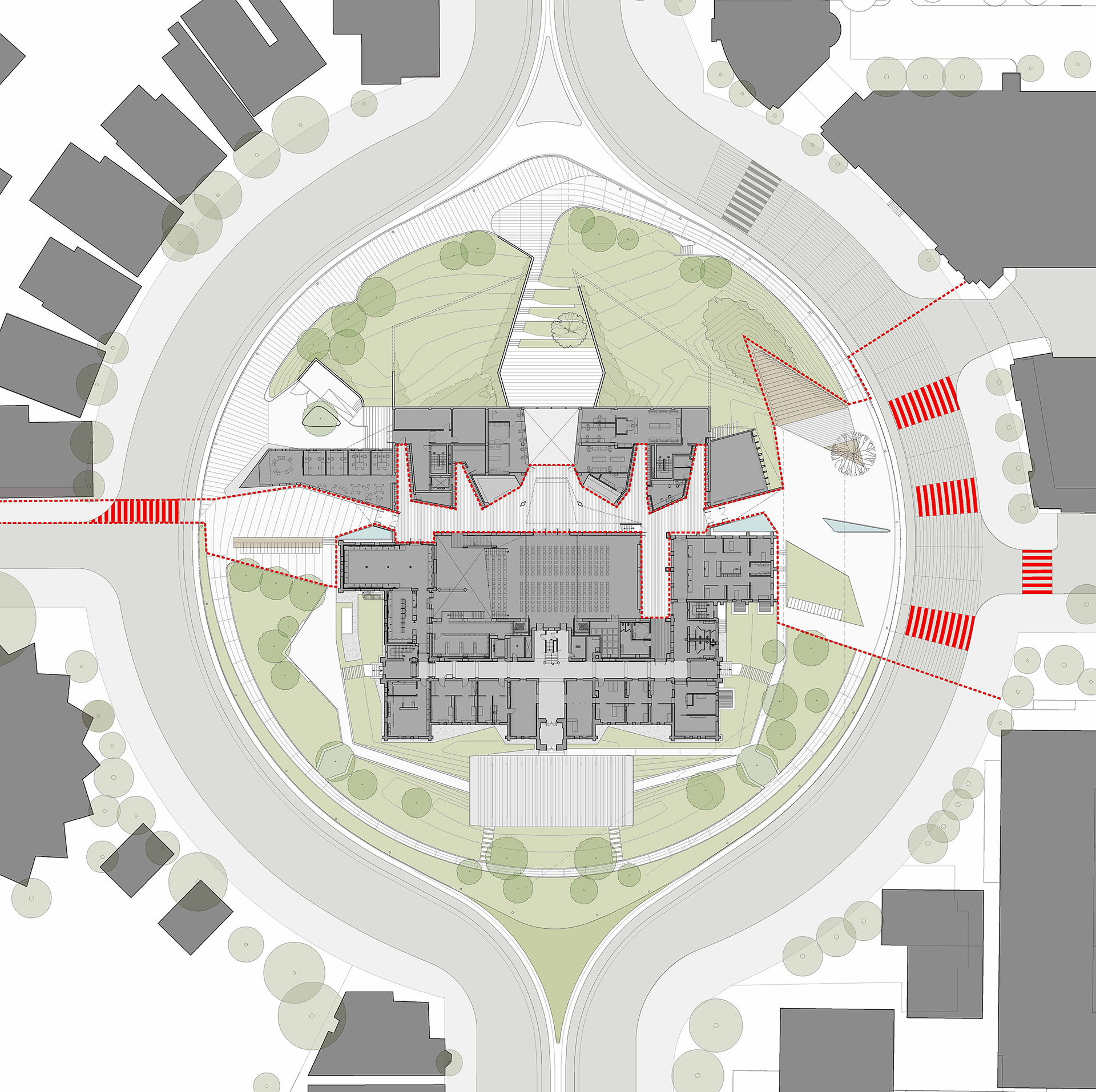 Site Plan | Daniels Faculty of Architecture | NADAAA architects | Canada | STIRworld