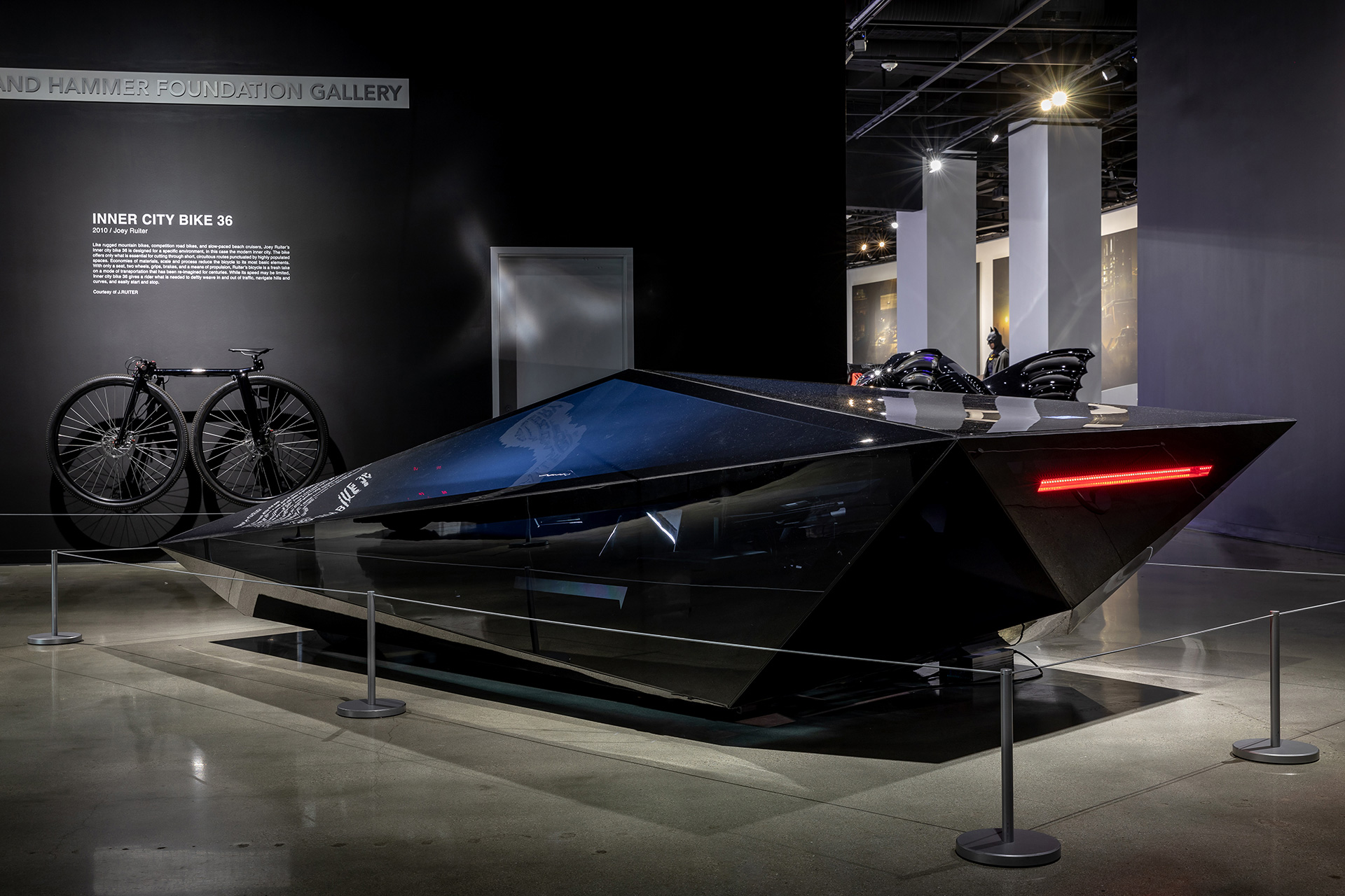 Vehicle designs by United Nude and J. Ruiter, at the Disruptors exhibition | Disruptors| Rem D Koolhaas and Joey Ruiter | Petersen Automotive Museum | STIRworld