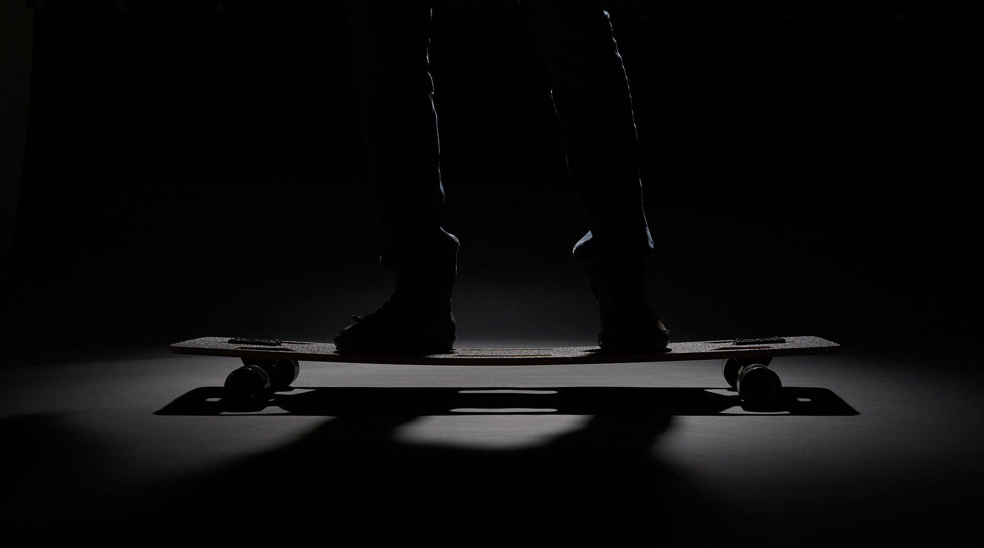 Ruiter's Lo-Rider Skateboard is a simpler and sleeker version of a traditional skateboard | Disruptors| Rem D Koolhaas and Joey Ruiter | Petersen Automotive Museum | STIRworld