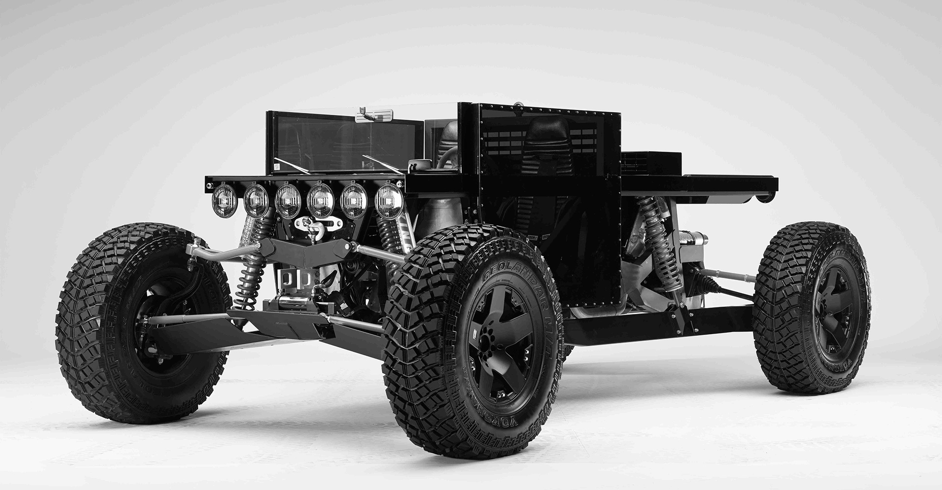 Reboot Buggy by Ruiter excludes non essential amenities from an automobile and is built from common salvage yard parts | Disruptors| Rem D Koolhaas and Joey Ruiter | Petersen Automotive Museum | STIRworld