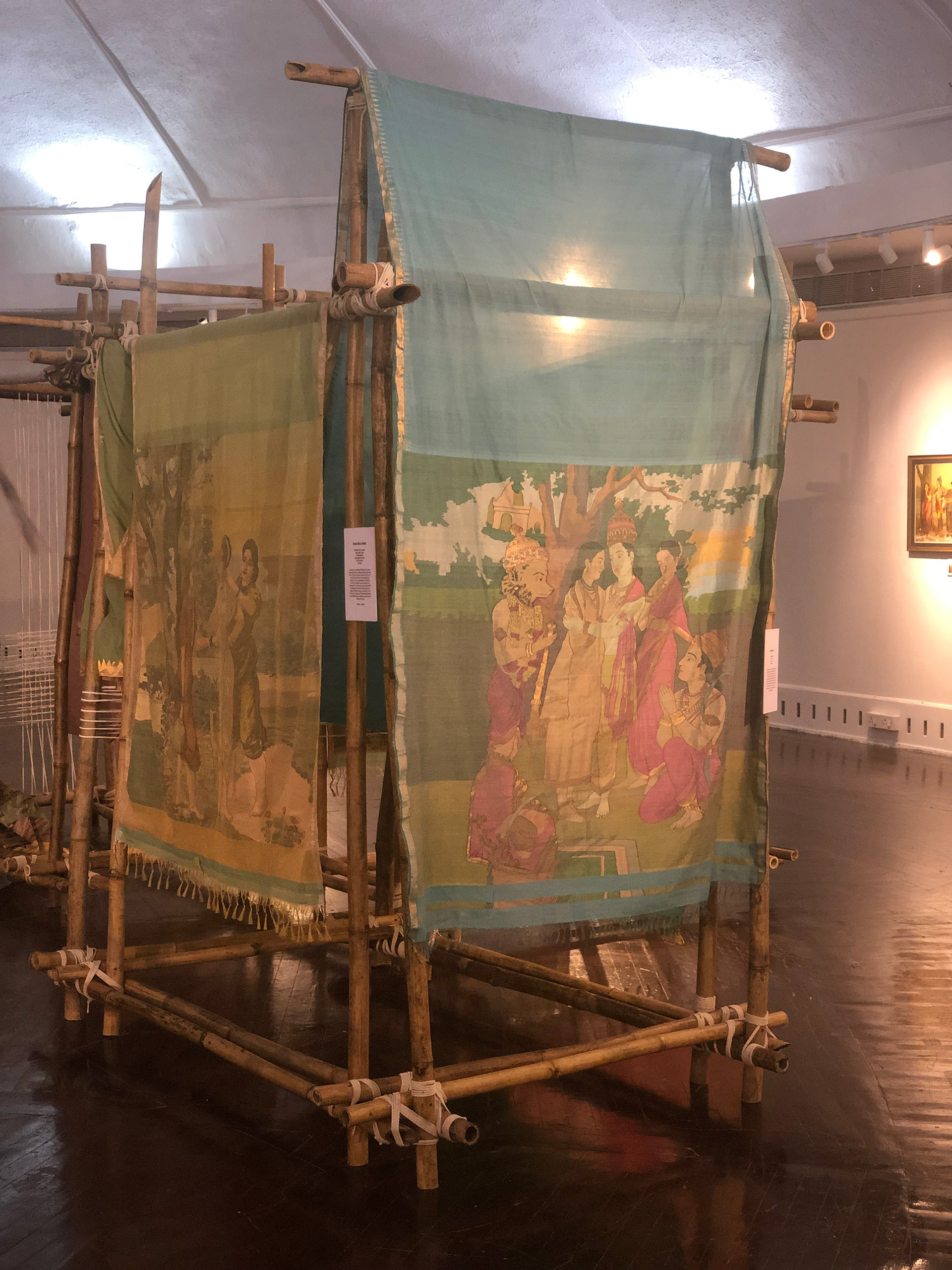 Gaurang Shah's installation of 30 landmark paintings from artist Raja Ravi Varma's works | Exhibition | Santati | Mahatma Gandhi | STIRworld