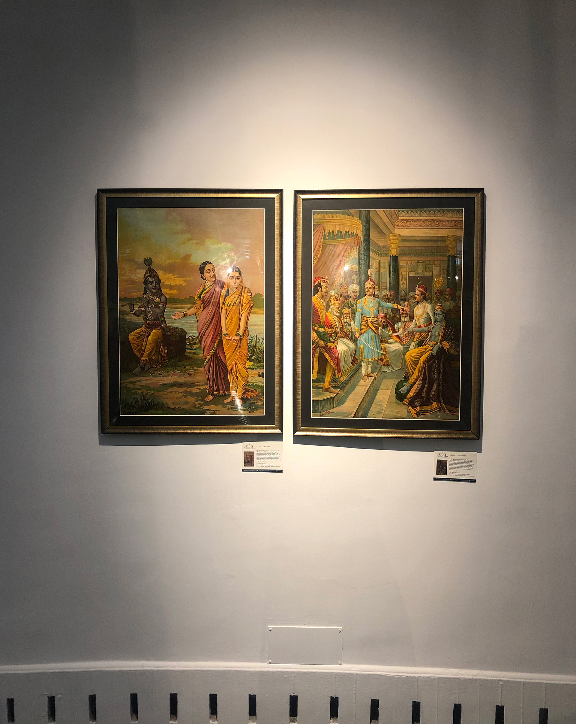 Collection of lithographs from artist Raja Ravi Varma's collection of works | Exhibition | Santati | Mahatma Gandhi | STIRworld