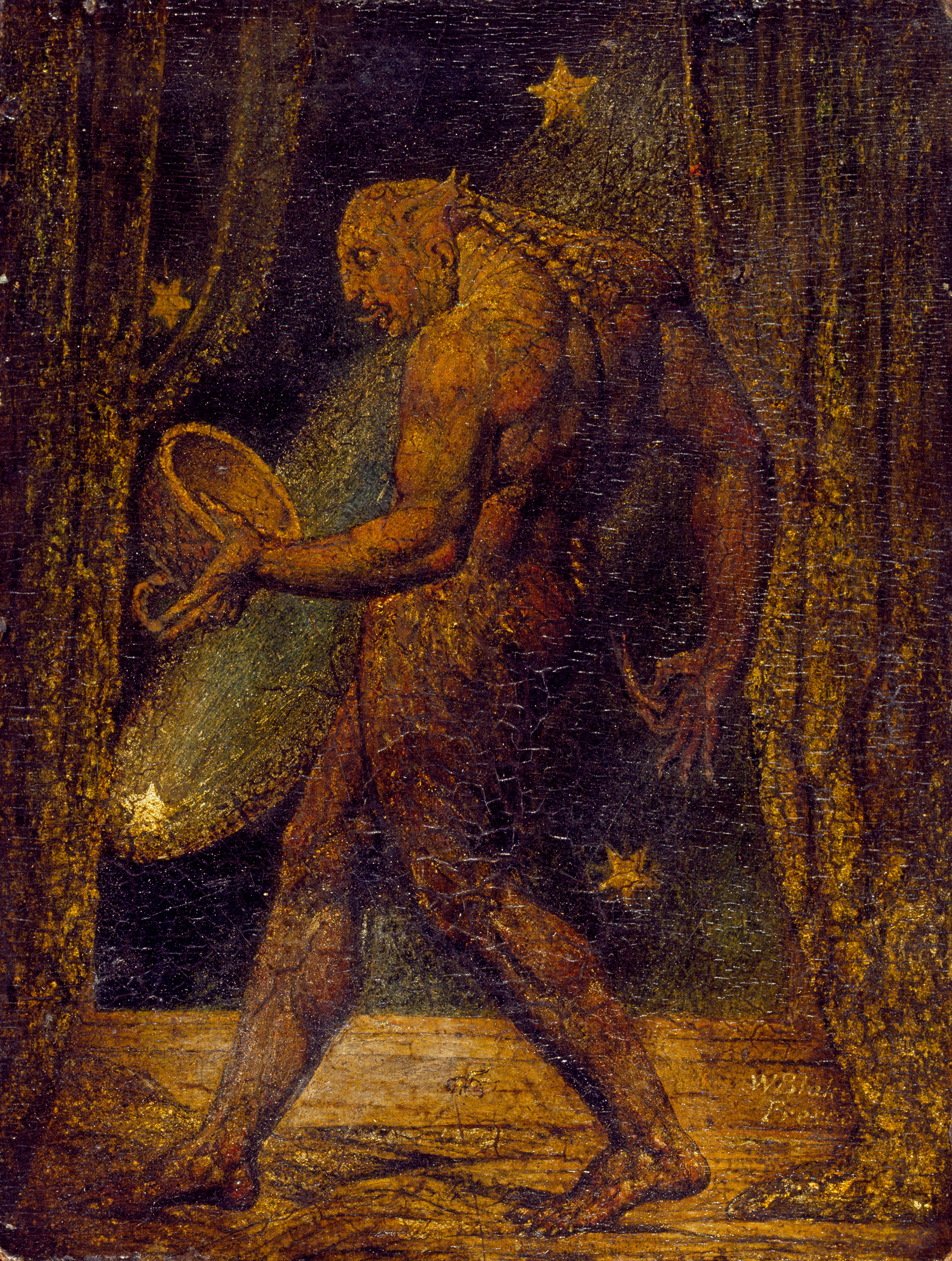 William Blake, The Ghost of a Flea 1820| Largest survey show of work by William Blake | STIRworld
