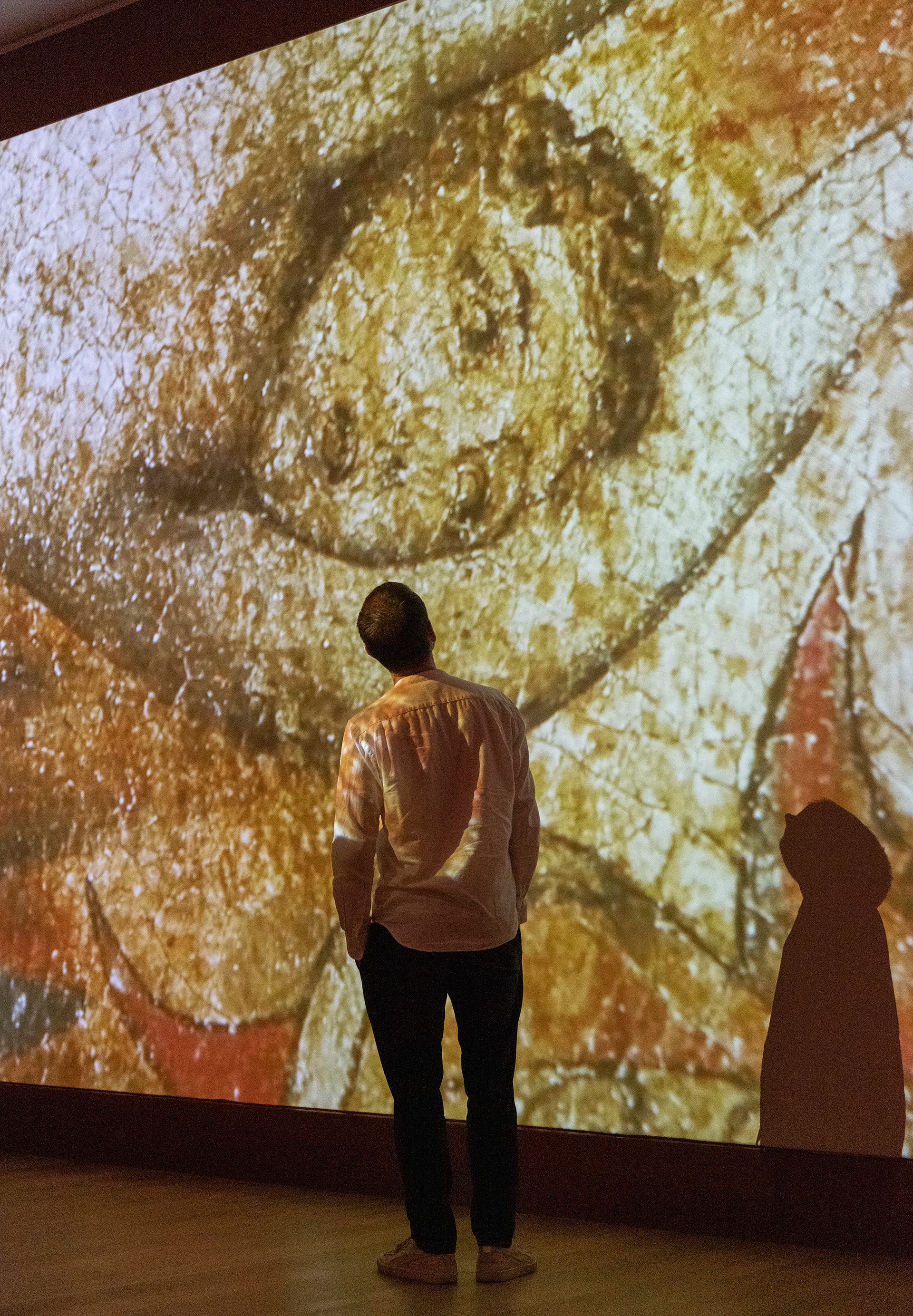 William Blake at Tate Britain, wall projection view | Largest survey show of work by William Blake | STIRworld