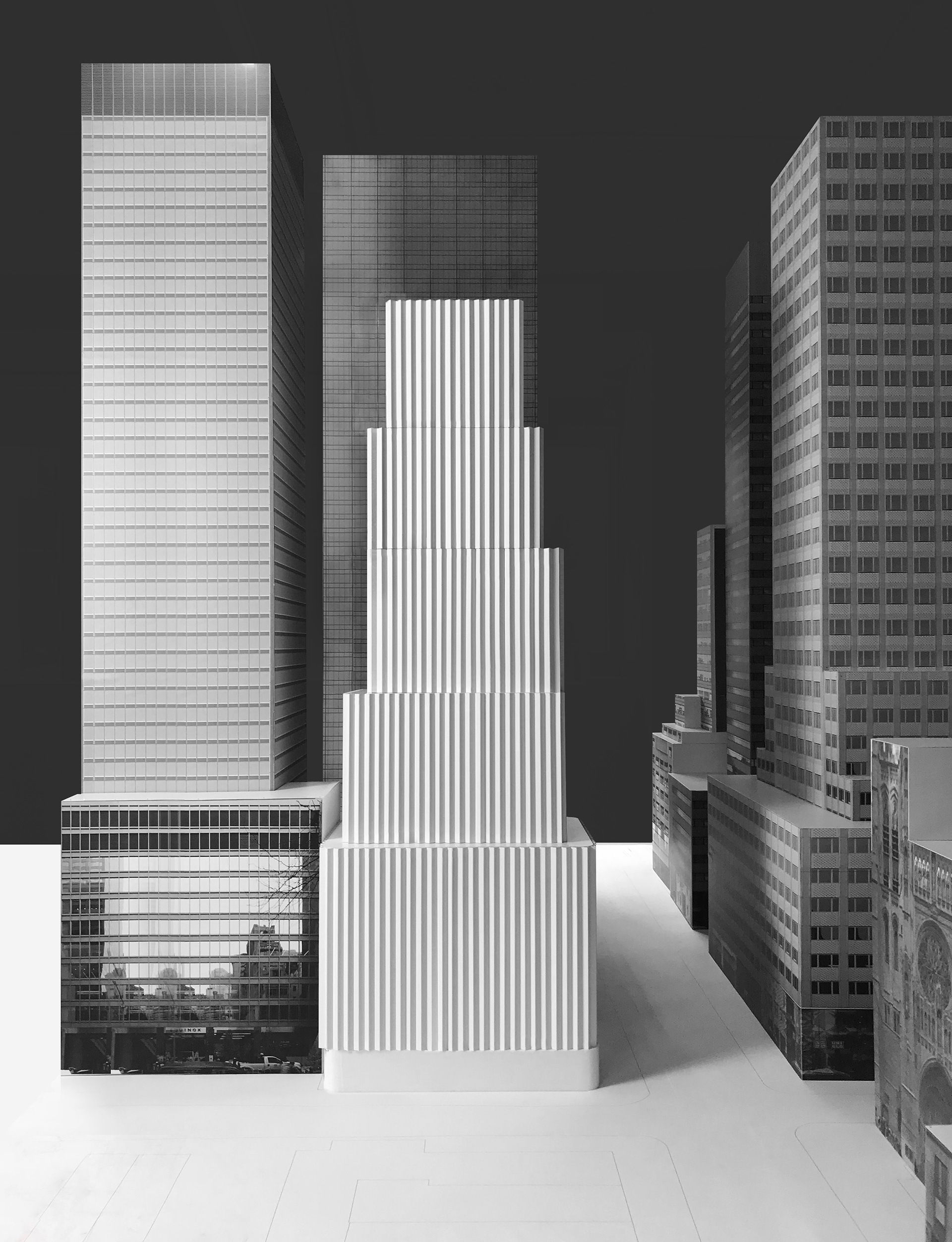 The model of the Rolex US headquarters in New York by David Chipperfield Architects | Rolex headquarters | David Chipperfield Architects | STIRworld