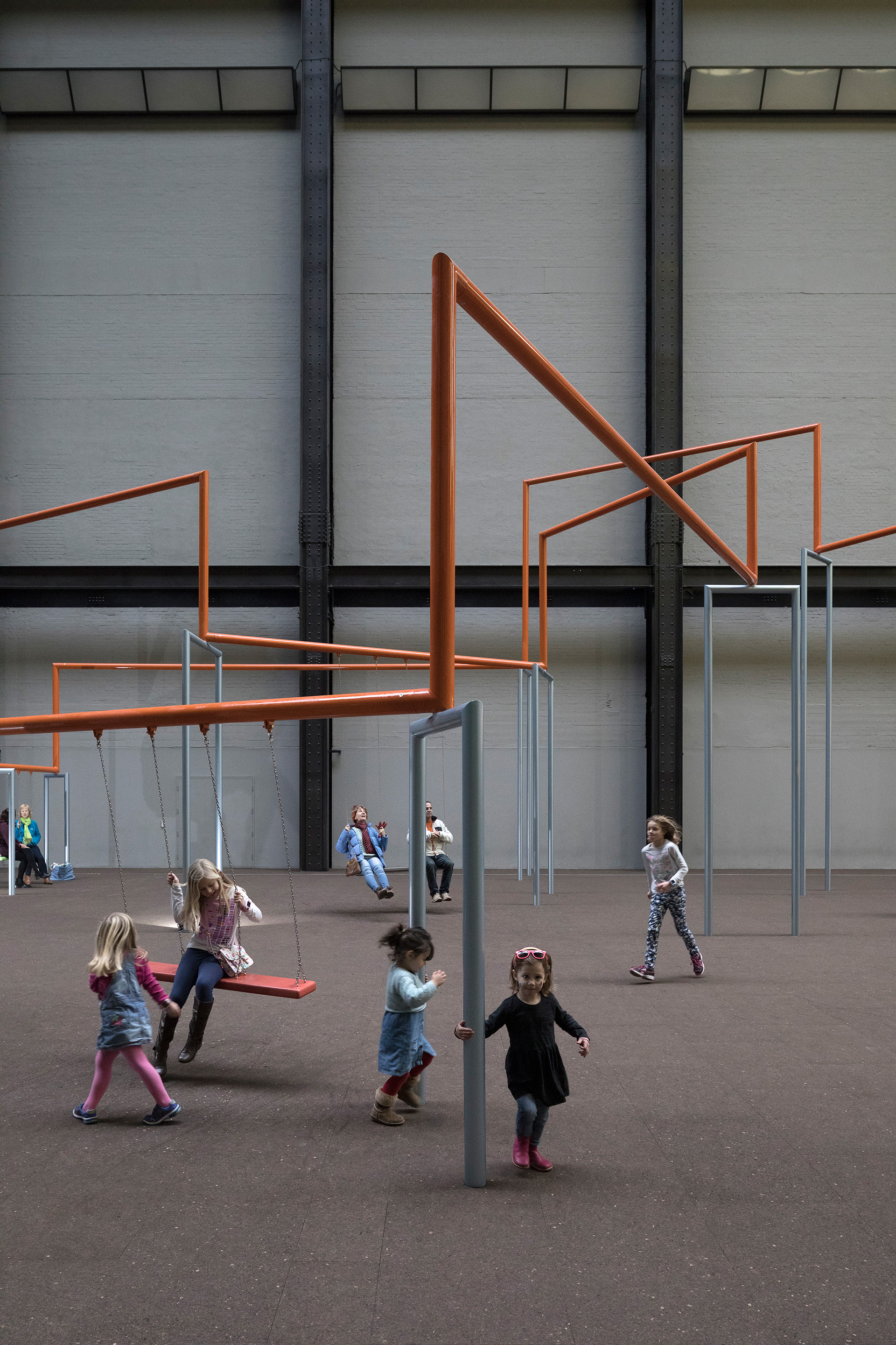 One Two Three Swing! at Tate Modern's Turbine Hall, 2017 | It is not the end of the world | SUPERFLEX | STIRworld