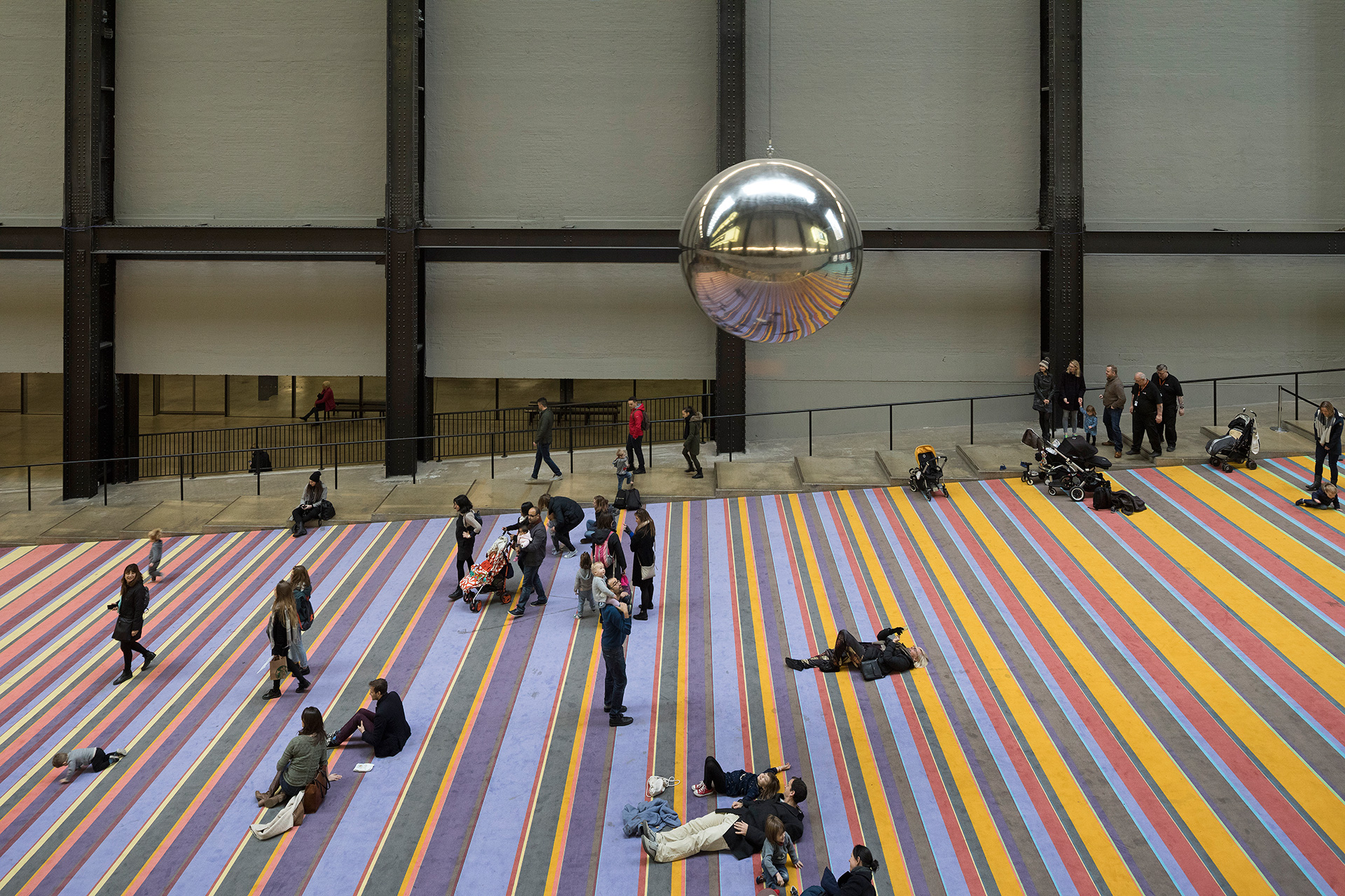 SUPERFLEX displayed their work And Yet It Moves/Pound Sterling, installed at Tate Modern's Turbine Hall, 2017 | It is not the end of the world | SUPERFLEX | STIRworld