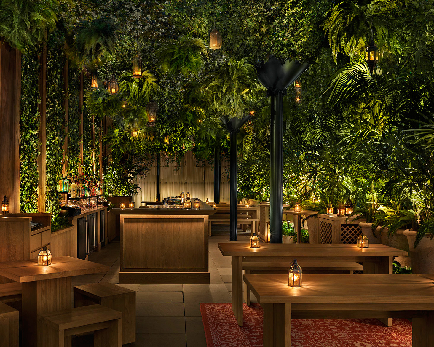 The east terrace | Times Square Edition | Yabu-Pushelberg | Ian Schrager | STIRworld