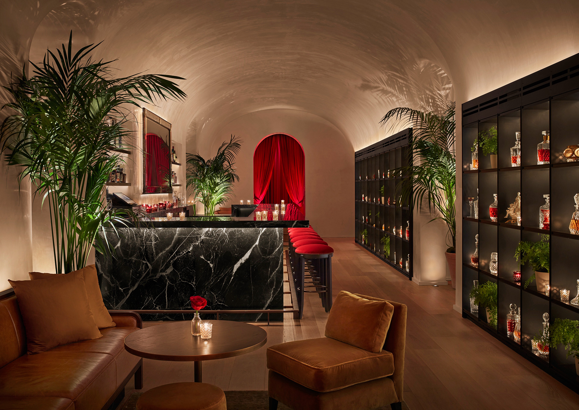 The terrace bar | Times Square Edition | Yabu-Pushelberg | Ian Schrager | STIRworld