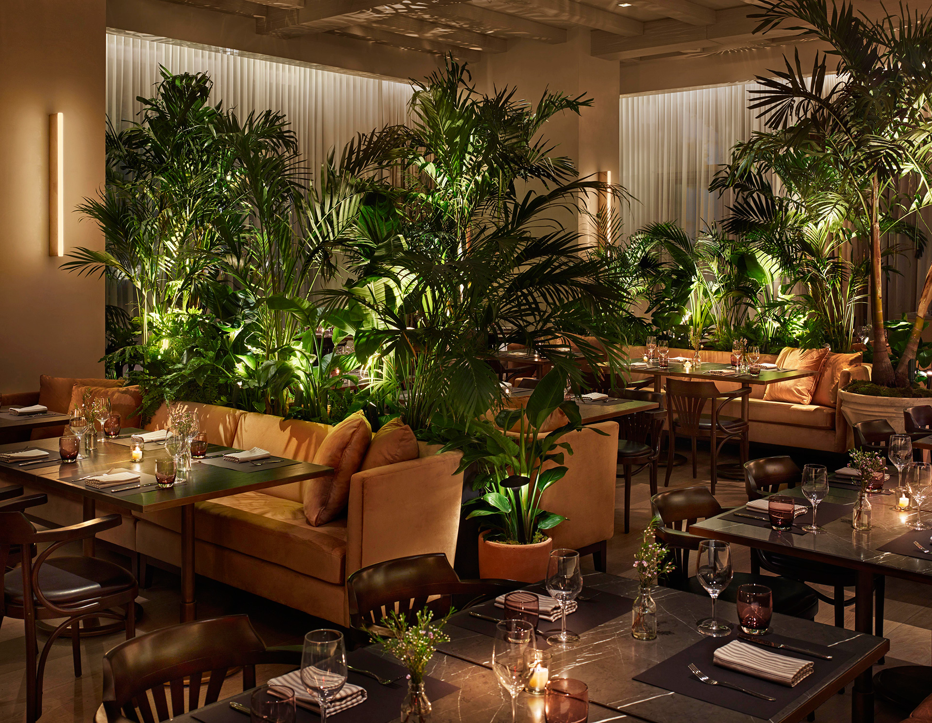 The terrace and outdoor gardens | Times Square Edition | Yabu-Pushelberg | Ian Schrager | STIRworld