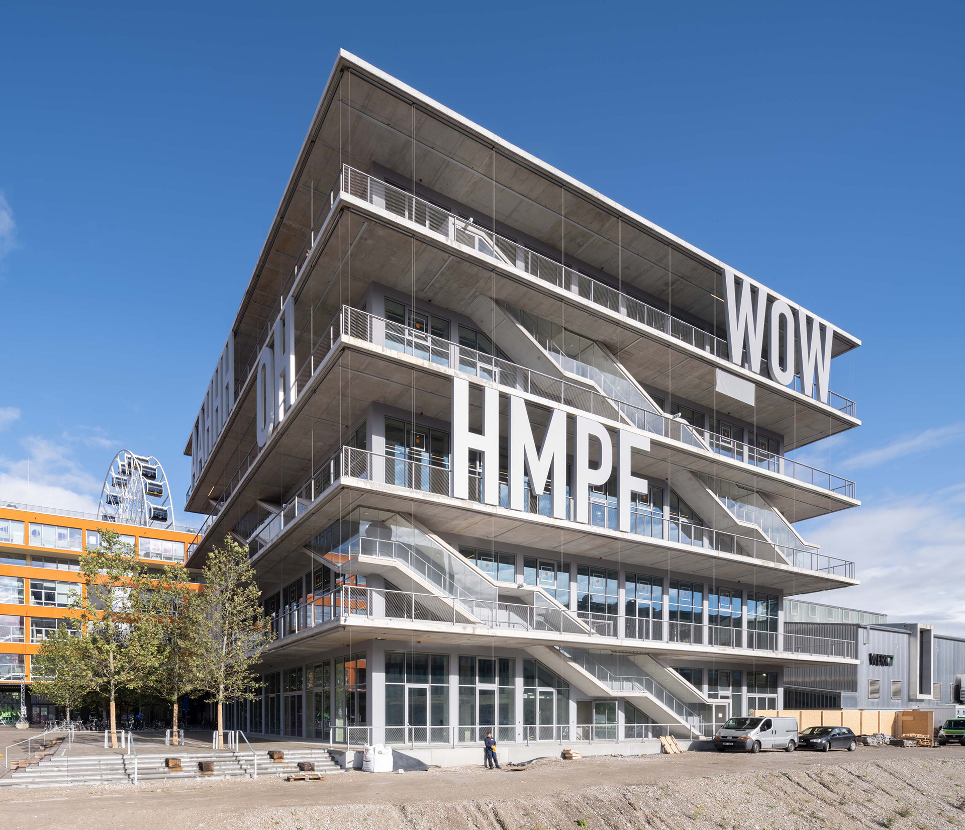 WERK12 celebrates the district's history where it is located along with upholding a contemporary vibe | WERK12 | MVRDV | STIRworld