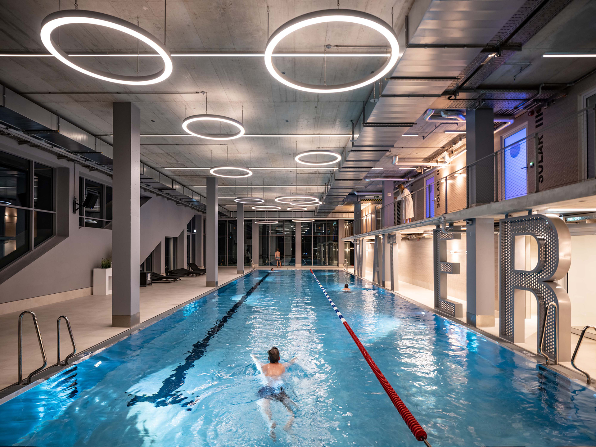 An entire floor of the building has been dedicated to a swimming pool | WERK12 | MVRDV | STIRworld