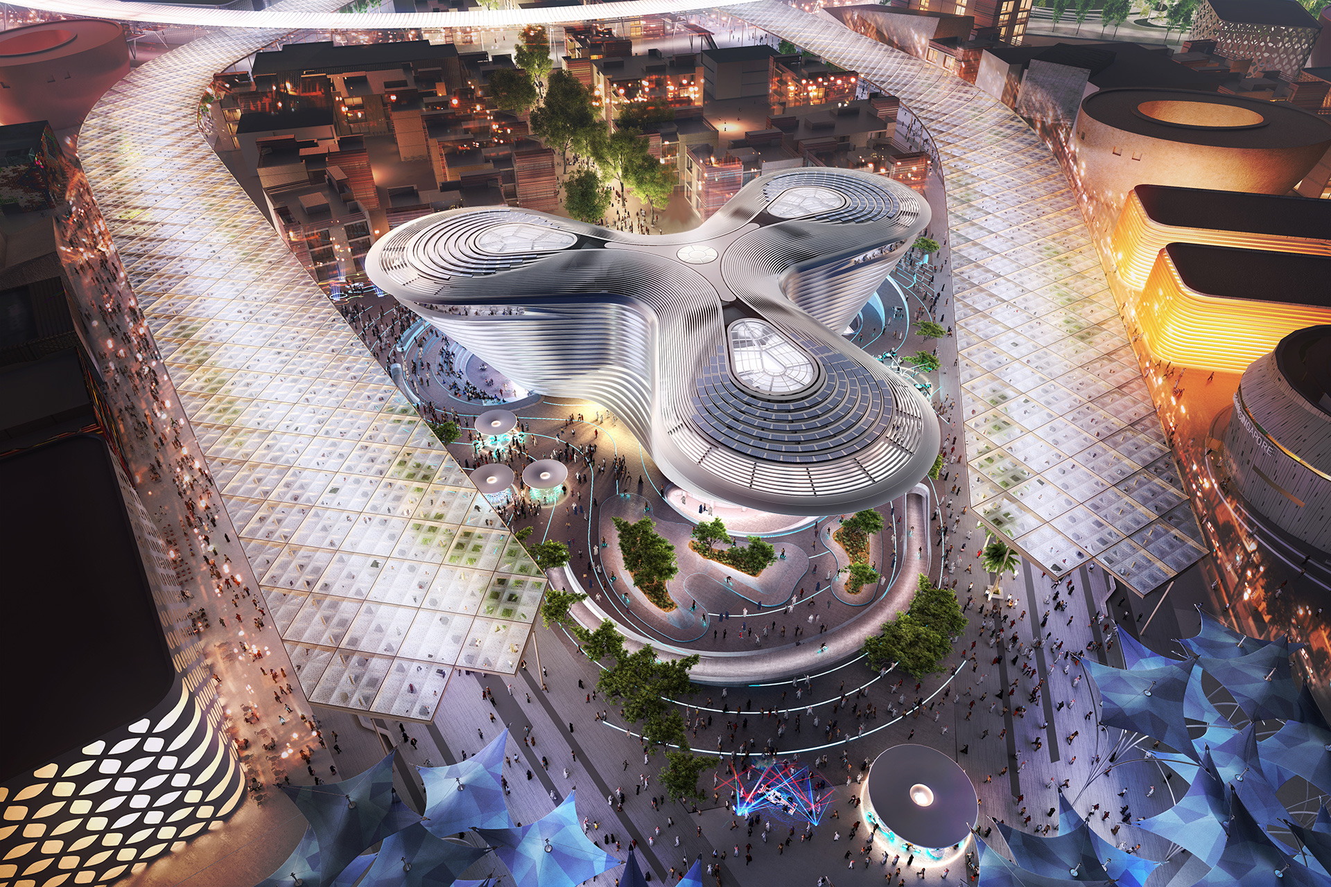 The Mobility Pavilion at the Expo 2020 Dubai | Mobility | Pavilion | Expo 2020| Dubai| STIRworld