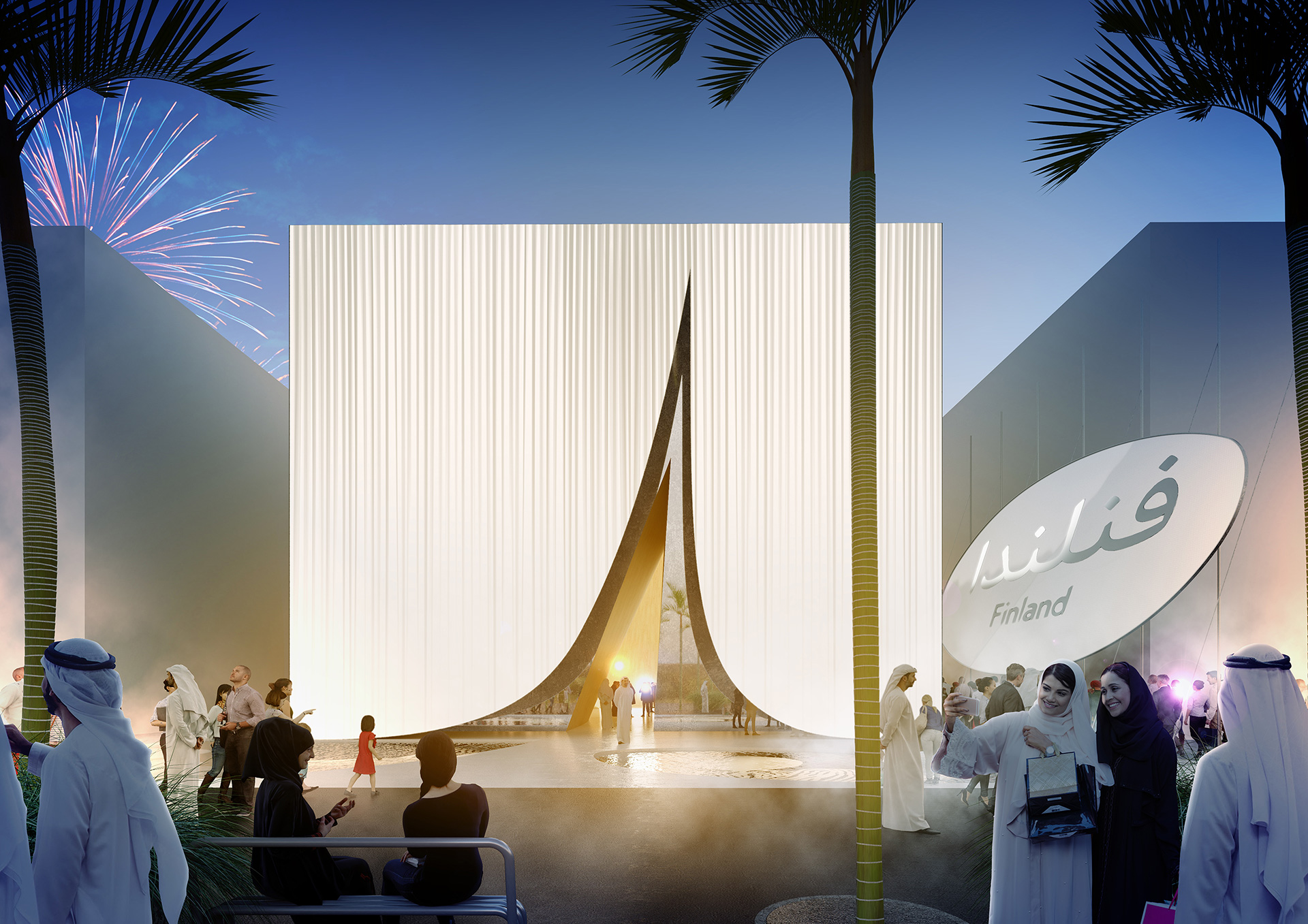 The Finland Pavilion by architecture firm JKMM at the Expo 2020 Dubai | Mobility | Pavilion | Expo 2020| Dubai| STIRworld