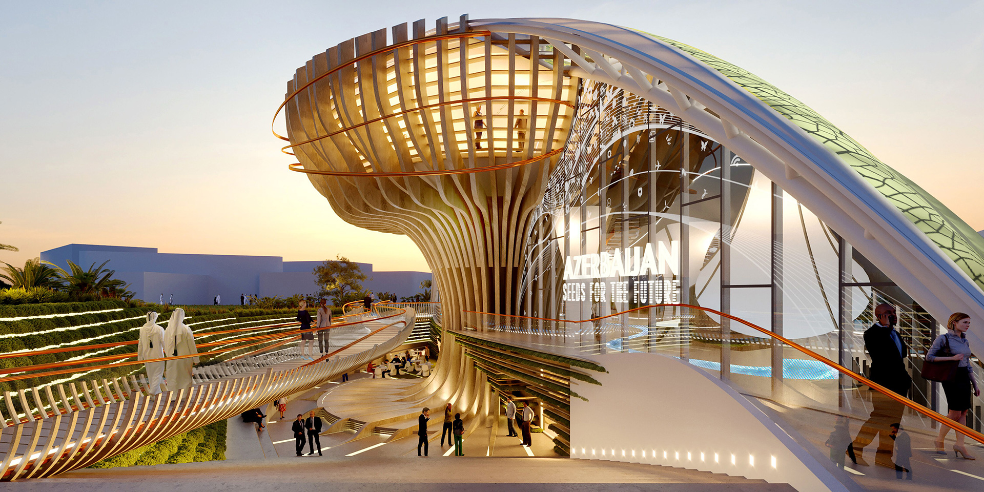 Azerbaijan Pavilion designed by Simmetrico | Sustainability | Pavilion | Expo 2020| Dubai| STIRworld