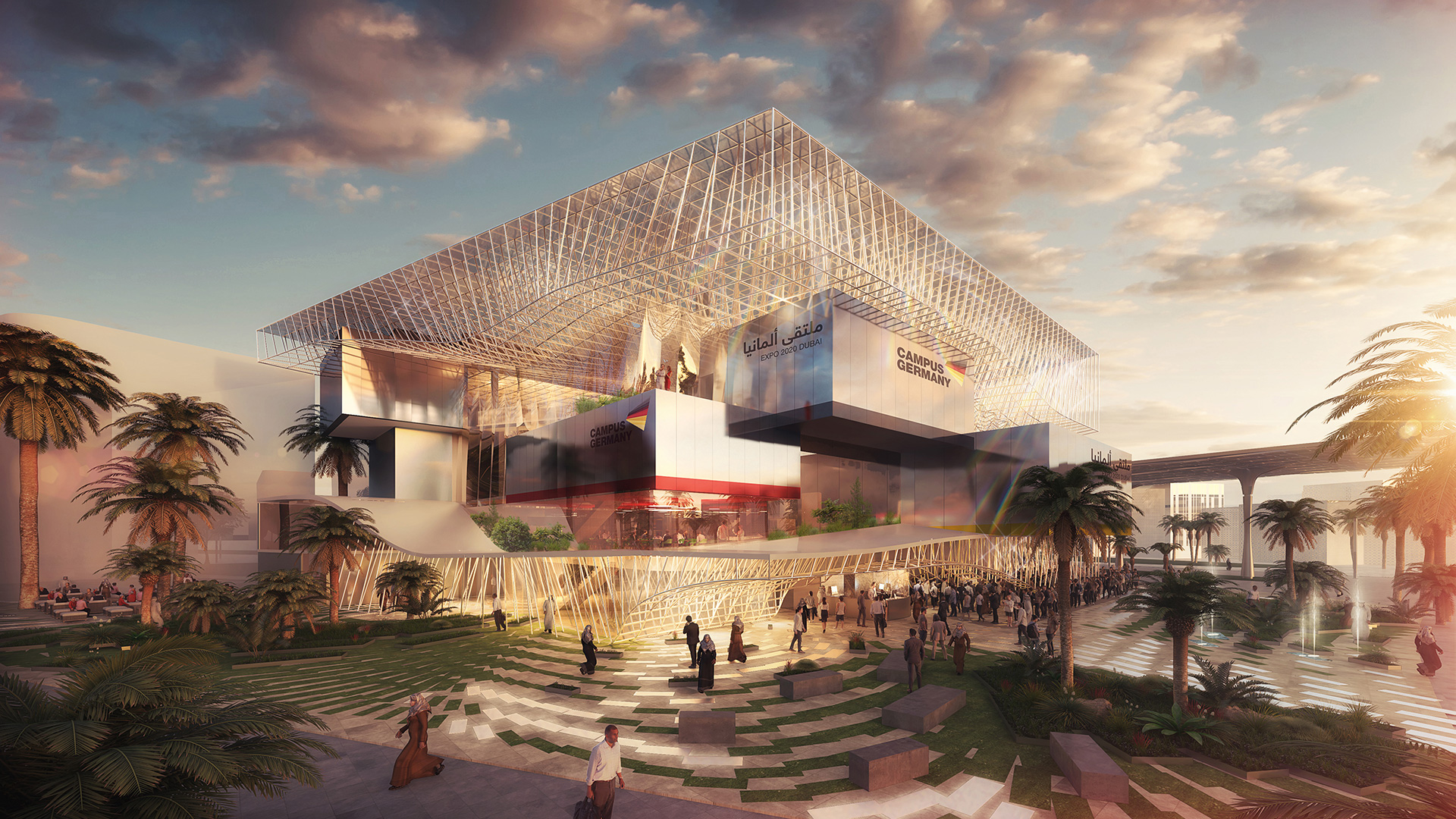 The Germany Pavilion designed by LAVA with Facts and Fiction | Sustainability | Pavilion | Expo 2020| Dubai| STIRworld