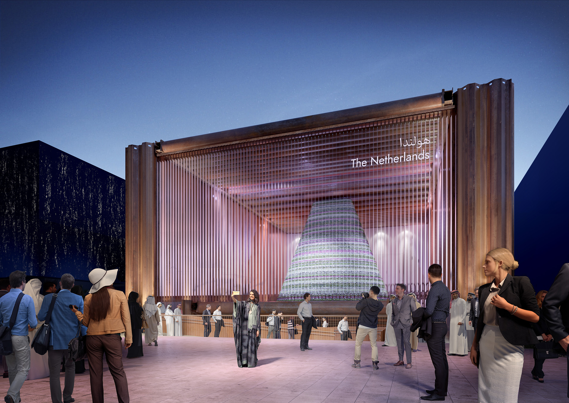 The Netherlands Pavilion designed by V8 Architects | Sustainability | Pavilion | Expo 2020| Dubai| STIRworld