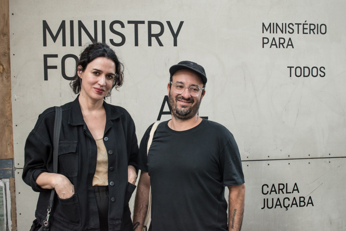 Architect Carla Juaçaba and artist Marcelo Cidade