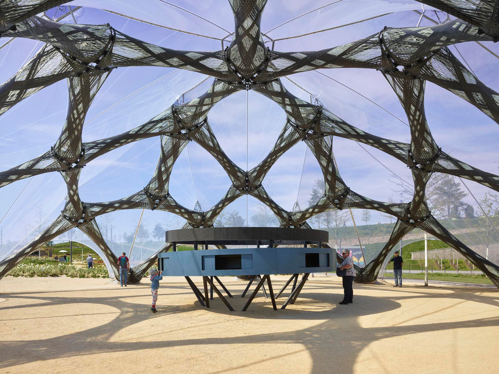 Inside the BUGA Fibre Pavilion |BUGA Fibre Pavilion 2019 | University of Stuttgart | STIRworld
