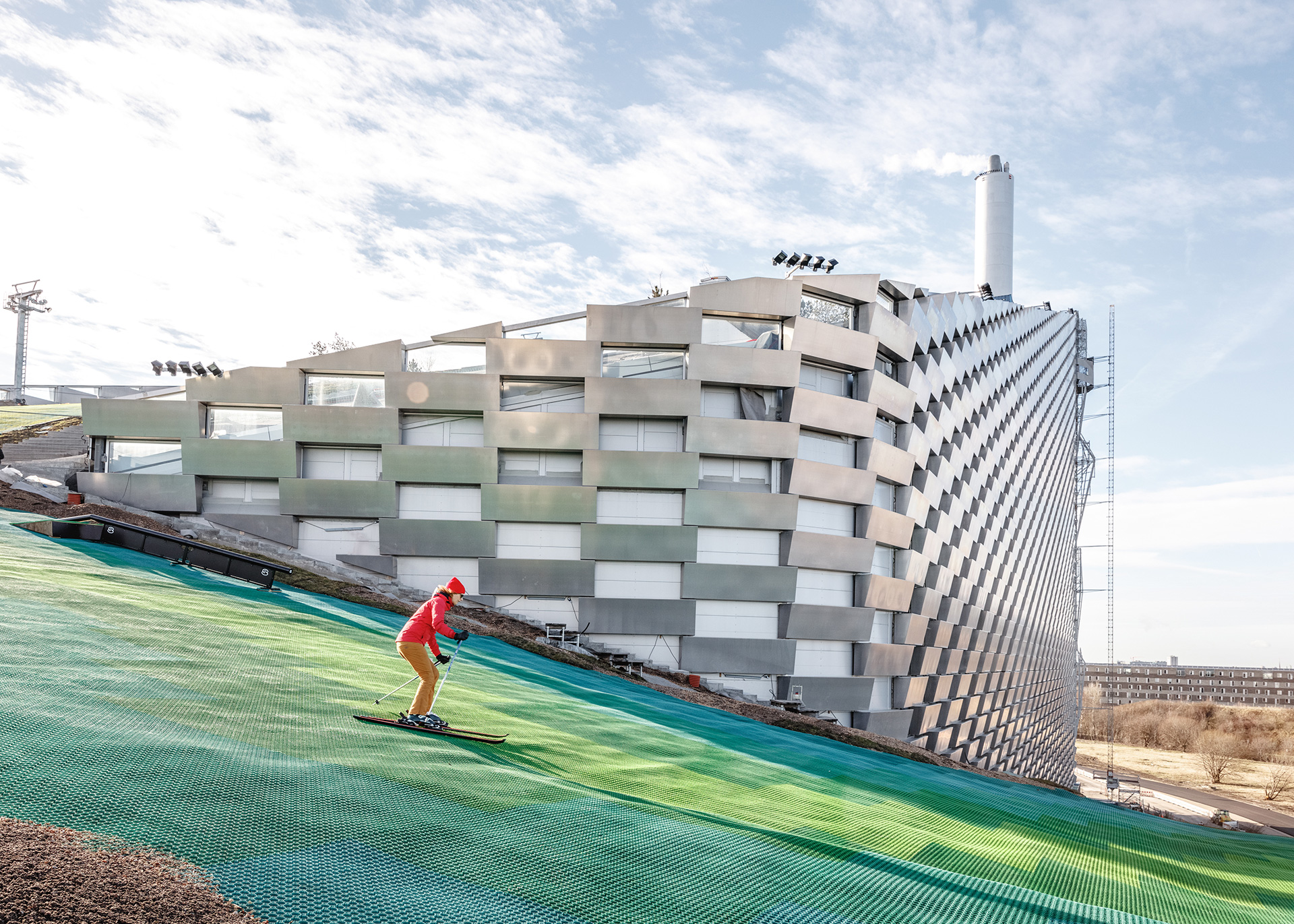 The ski slope with the same length as an Olmypic half-pipe | Copenhill | Denmark | BIG | Bjarke Ingles Group | STIRworld