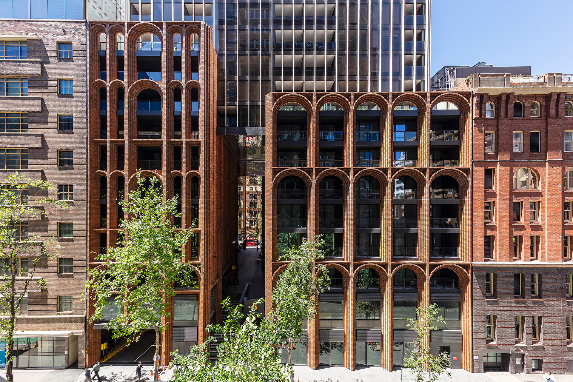Kent Street elevation of Arc | Arc |Koichi Takada Architects | Sydney | STIRworld