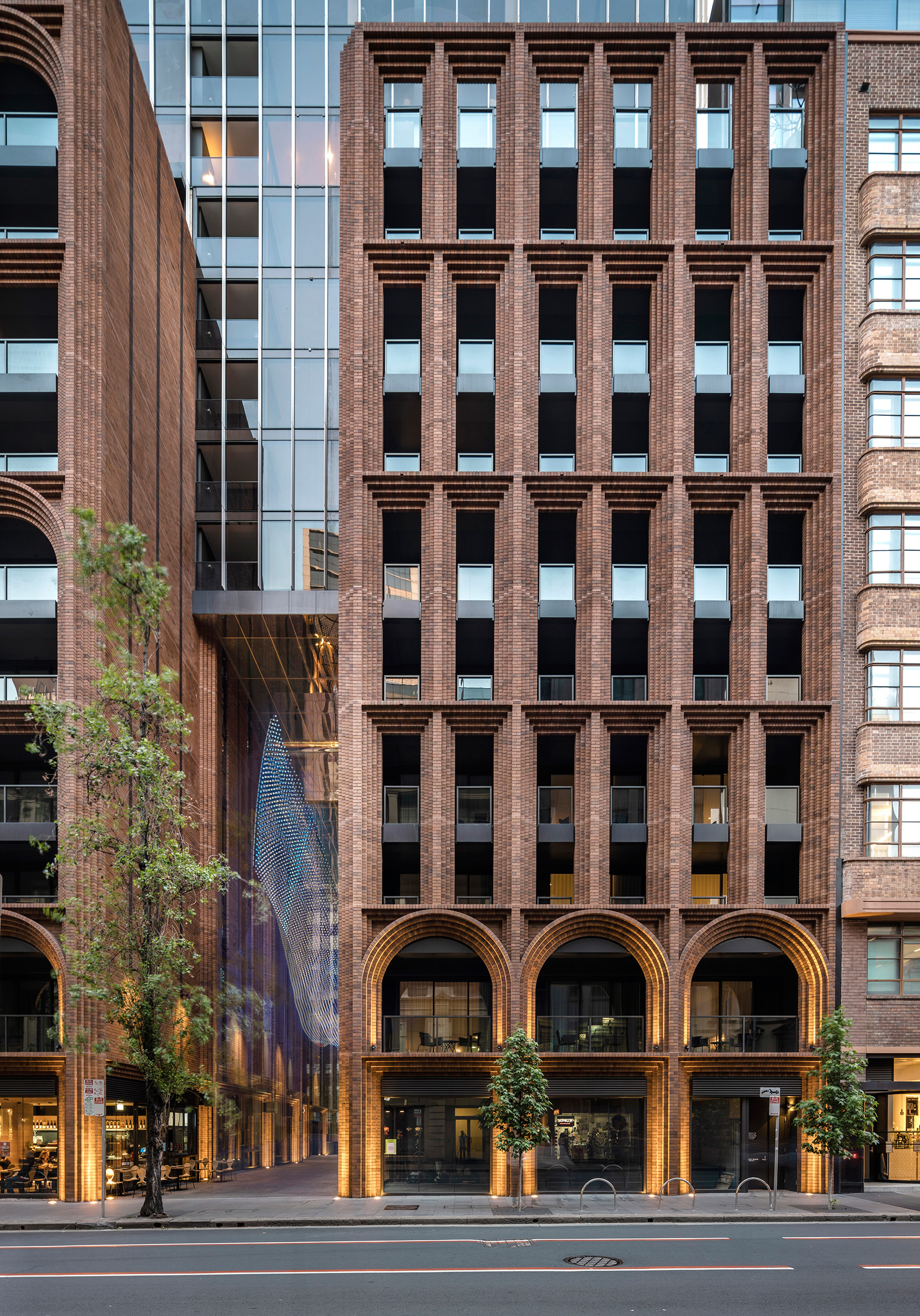 Clarence Street view of Arc | Arc |Koichi Takada Architects | Sydney | STIRworld