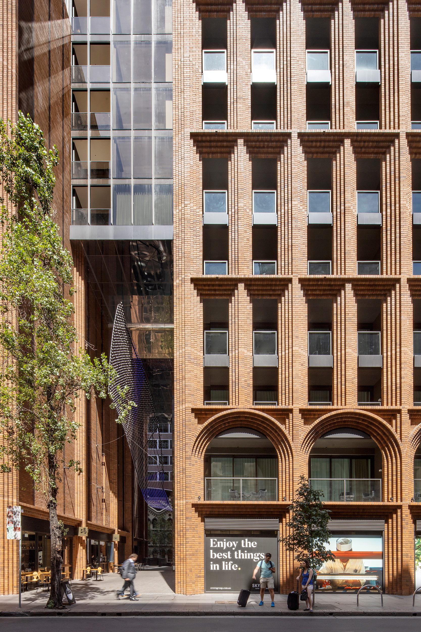 Clarence Street view of the tower's façade | Arc |Koichi Takada Architects | Sydney | STIRworld