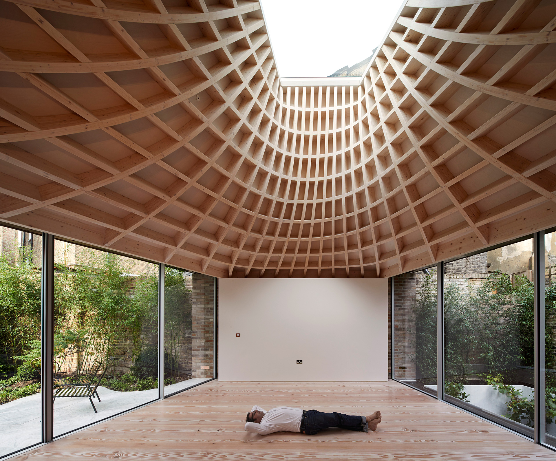 The house is shaped and informed by natural light | House in a Garden, London by Gianni Botsford Architects | STIRworld