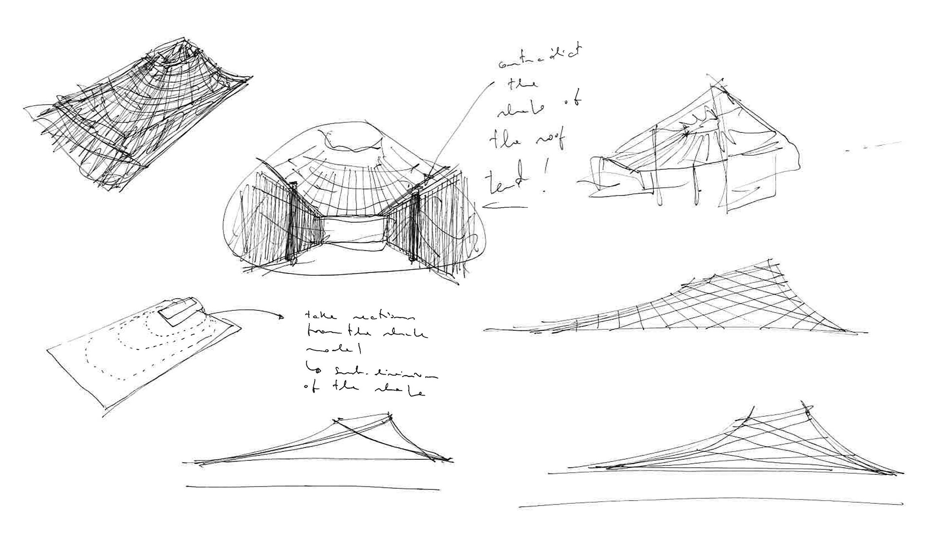 Conceptual sketch | House in a Garden, London by Gianni Botsford Architects | STIRworld