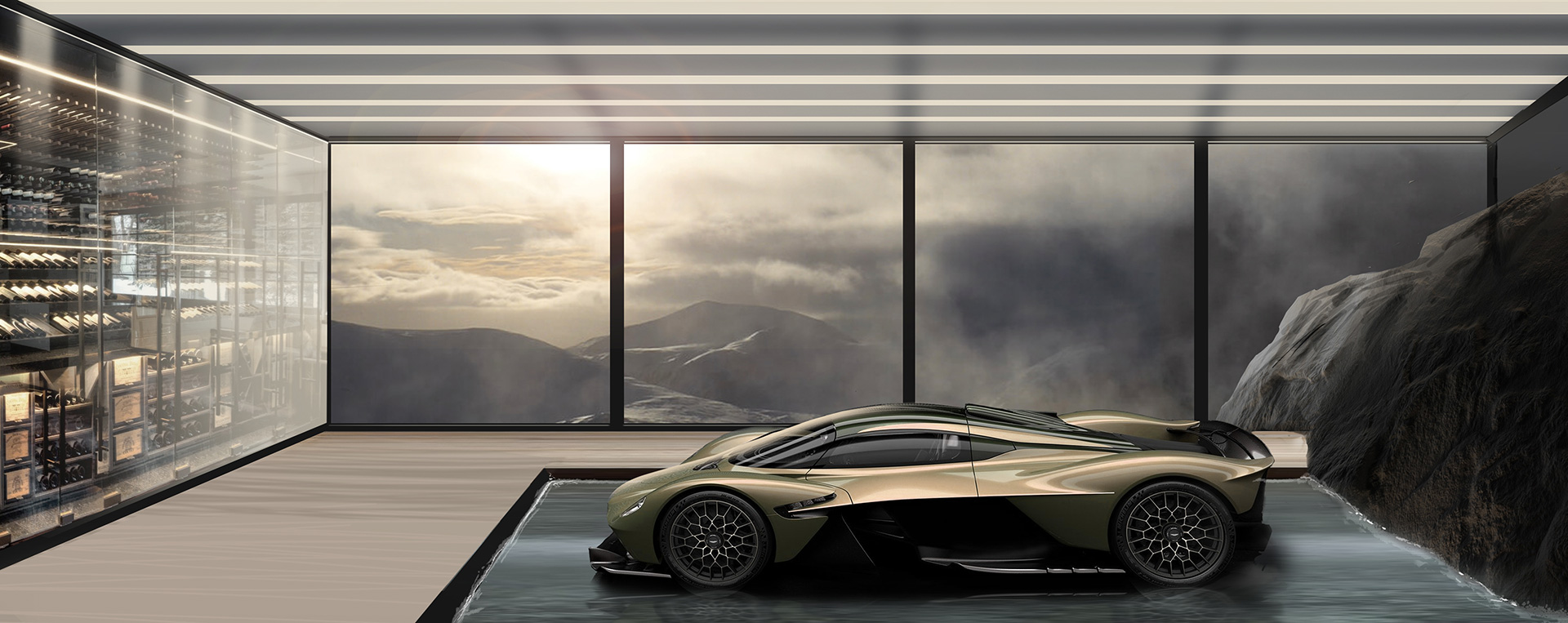The automotive galleries and lairs take Aston Martin ownership to a new level | Aston Martin Automotive Galleries and Lairs| STIRworld