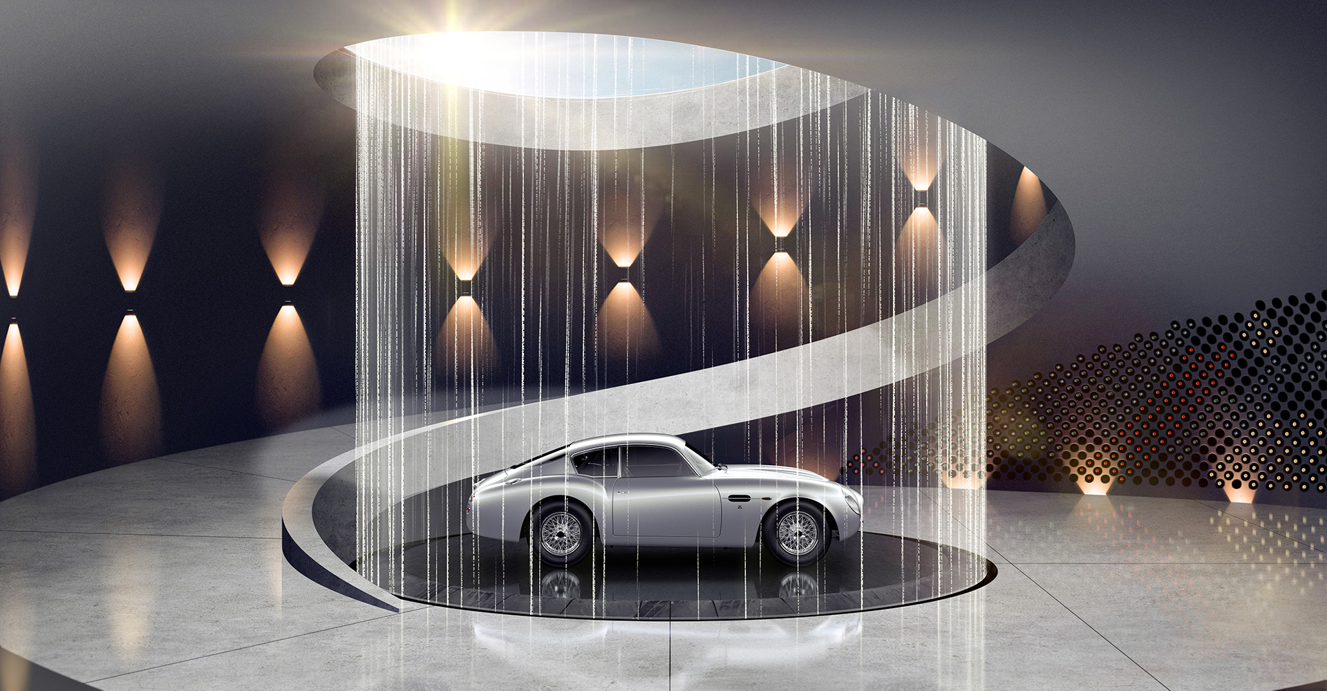 The bespoke galleries will display automotive art too | Aston Martin Automotive Galleries and Lairs| STIRworld