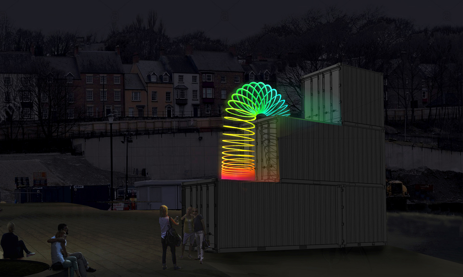 End over End, Lucy McDonnell; new to Lumiere Durham 2019, produced by Artichoke | Lumiere Durham 2019 | Lucy McDonnell | STIRworld