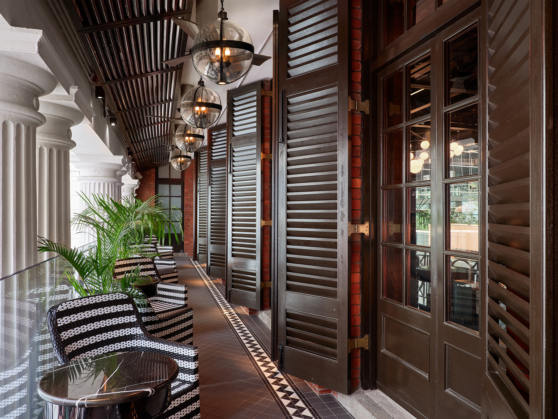 Outdoor area at Statement restaurant |AB Concept | Ed Ng | Terence Ngan | STIRworld