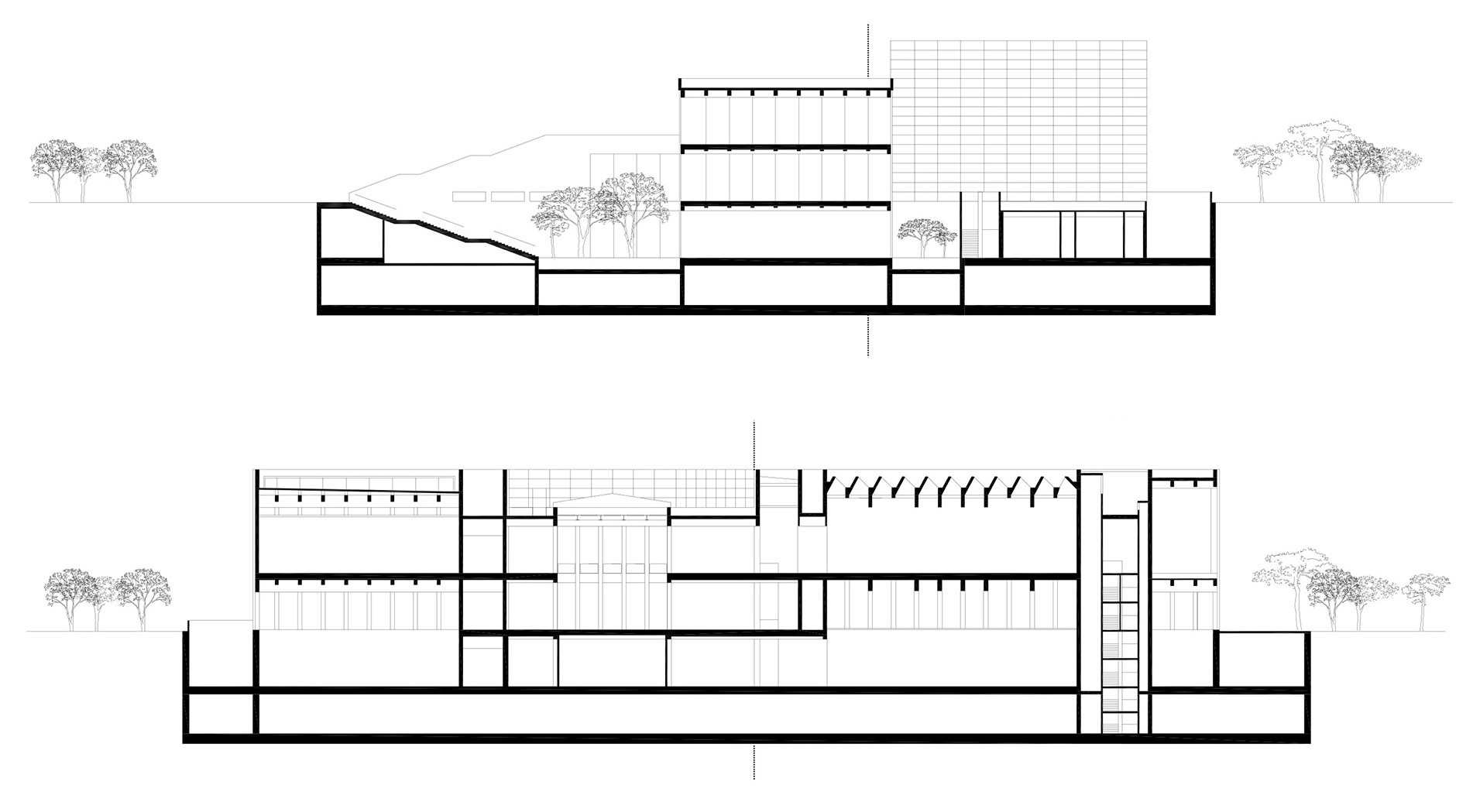 Sections| West Bund Museum | David Chipperfield Architects Berlin and Shanghai| STIRworld