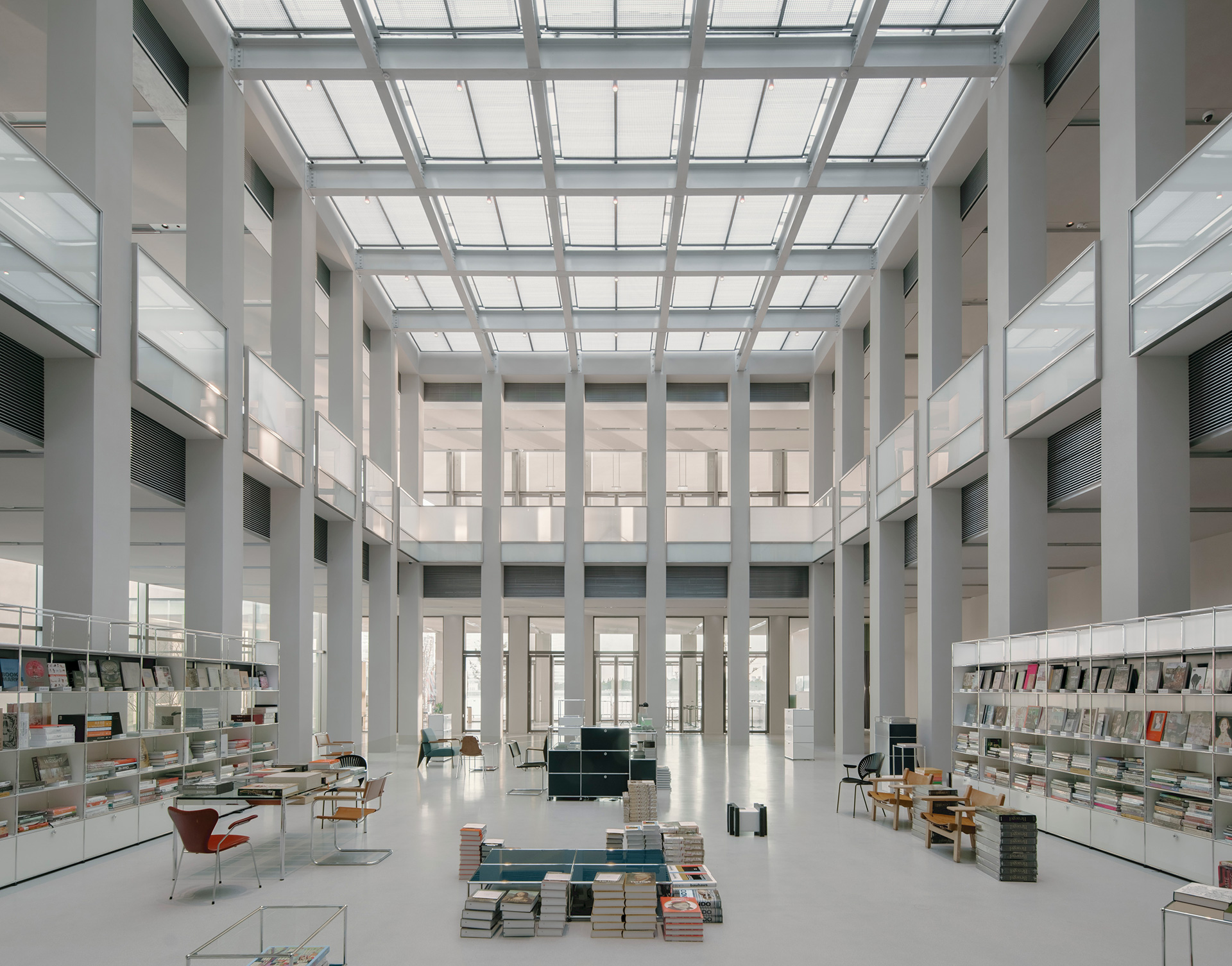 Inside the Museum's foyer | West Bund Museum | David Chipperfield Architects Berlin and Shanghai| STIRworld