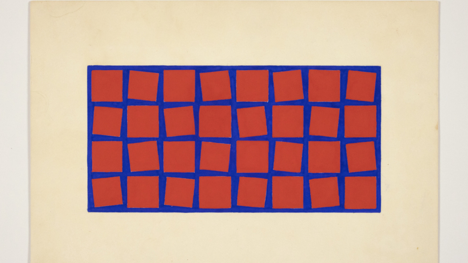Hélio Oiticica's earlier works. Untitled, 1958 in gouache on cardboard | Lisson Gallery | Hélio Oiticica | STIRworld