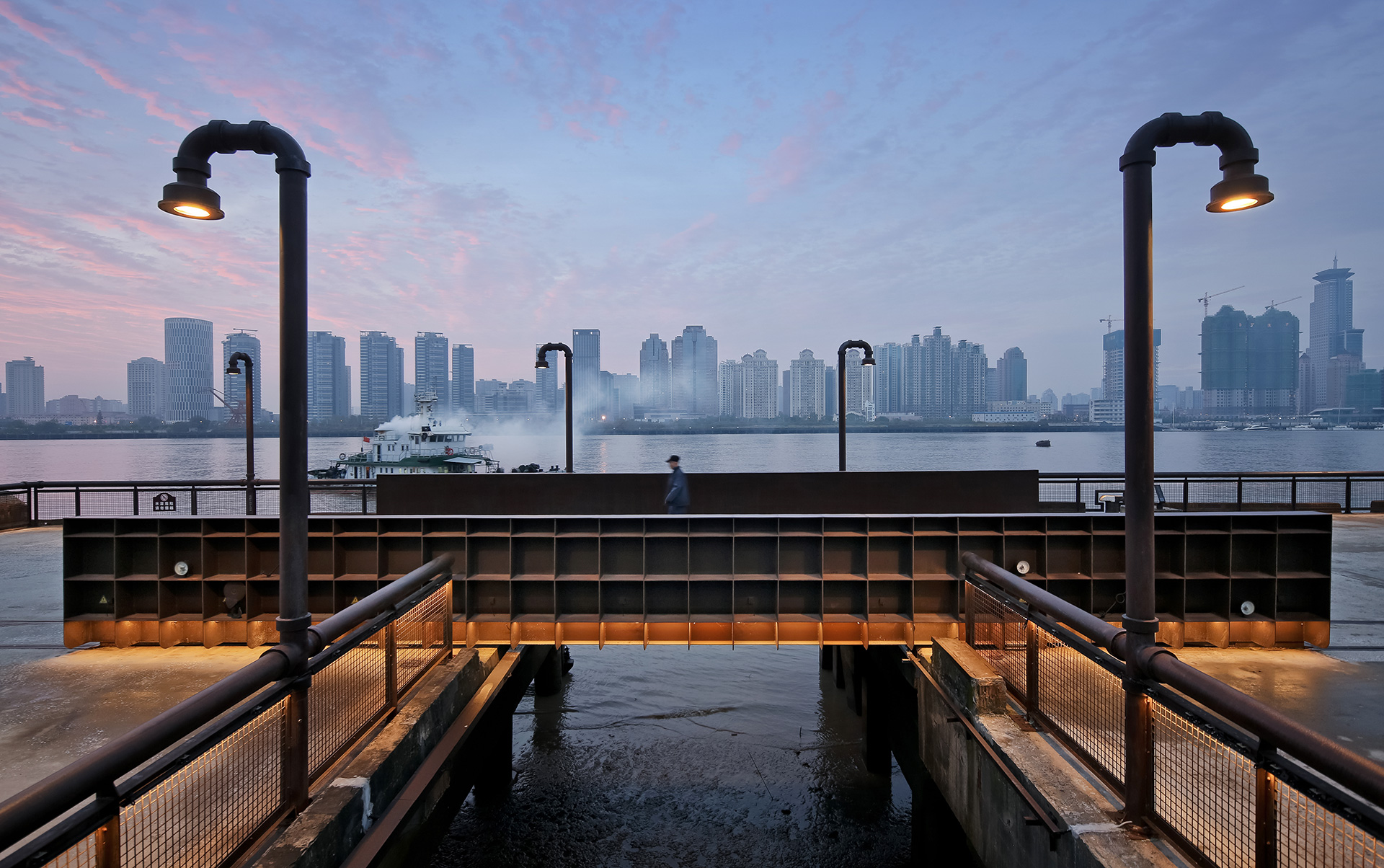 Winner of the WAF 'Landscape Project of the Year' - Demonstration Section of Yangpu Riverside Public Space by Original Design Studio | World Architecture Festival 2019 | INSIDE World Festival of Interiors 2019| STIRworld