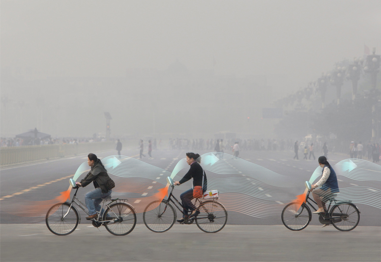 Smog Free Bicycle by Daan Roosegaarde | The Smog Free Project | Daan Roosegaarde | STIRworld
