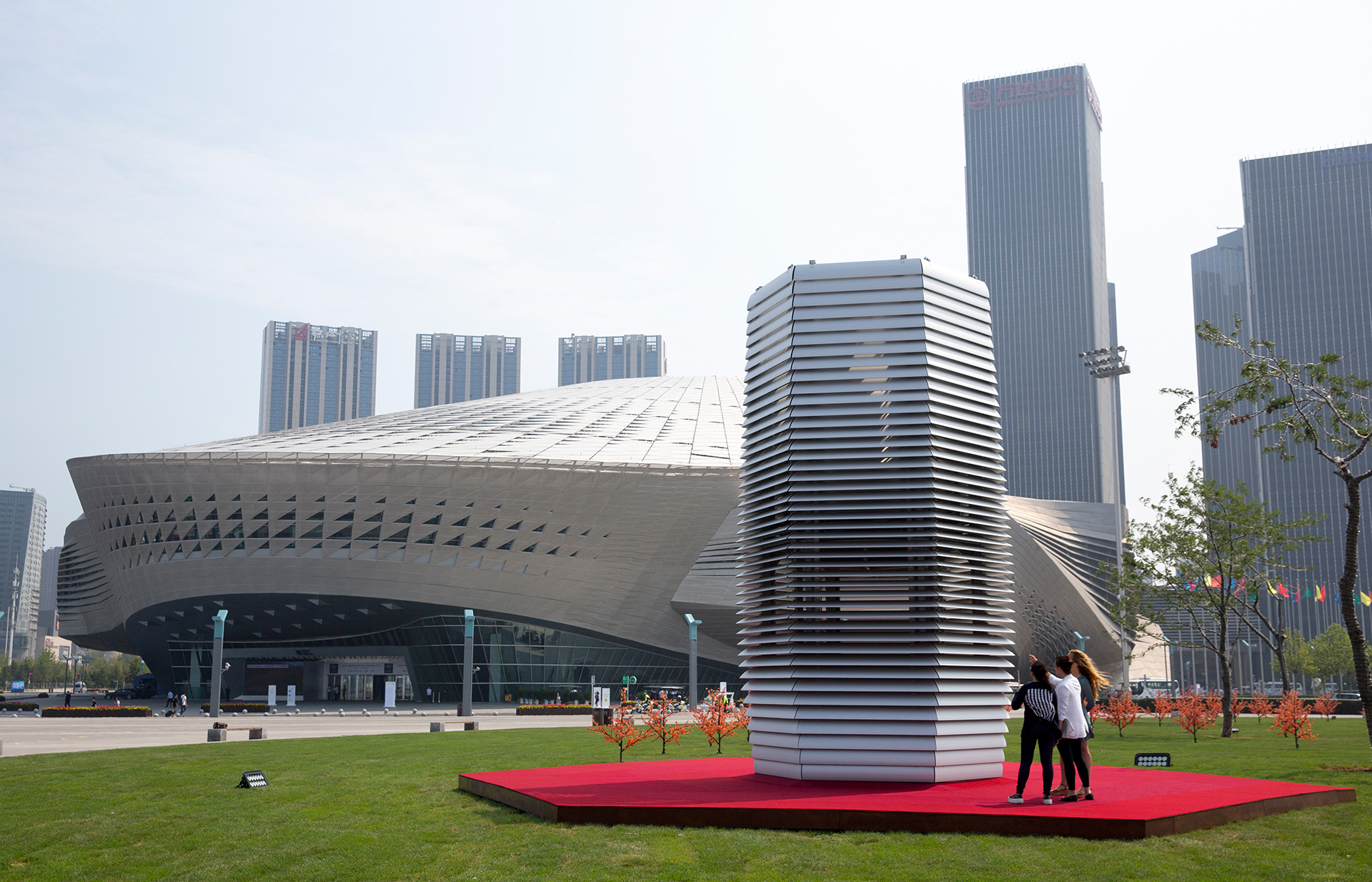 Smog Free Project in Dalian, China | The Smog Free Project | Daan Roosegaarde | STIRworld