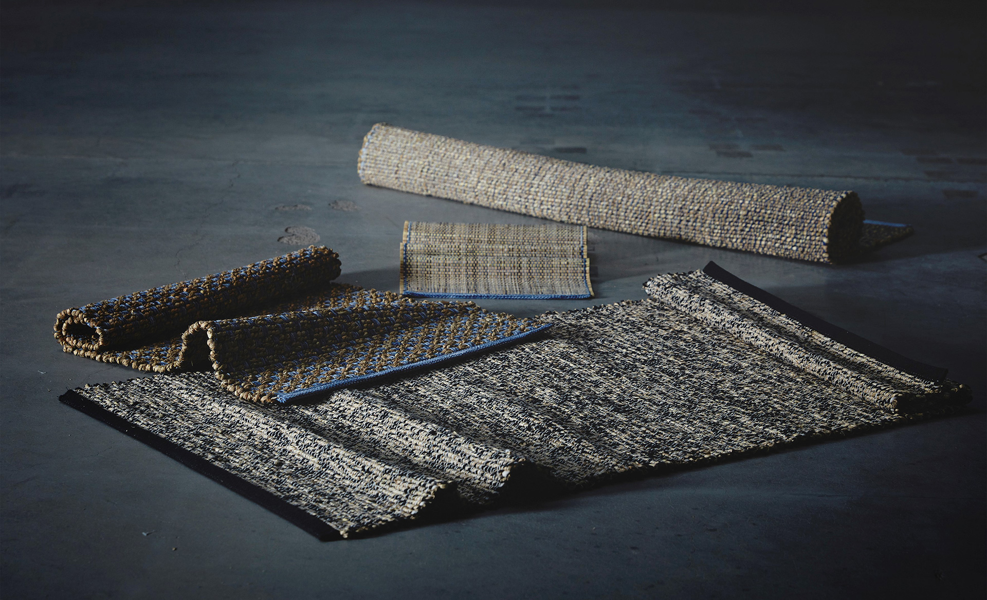 Rugs and runners from the FÖRÄNDRING collection made out of rice straw |  Better Air Now | IKEA | STIRworld